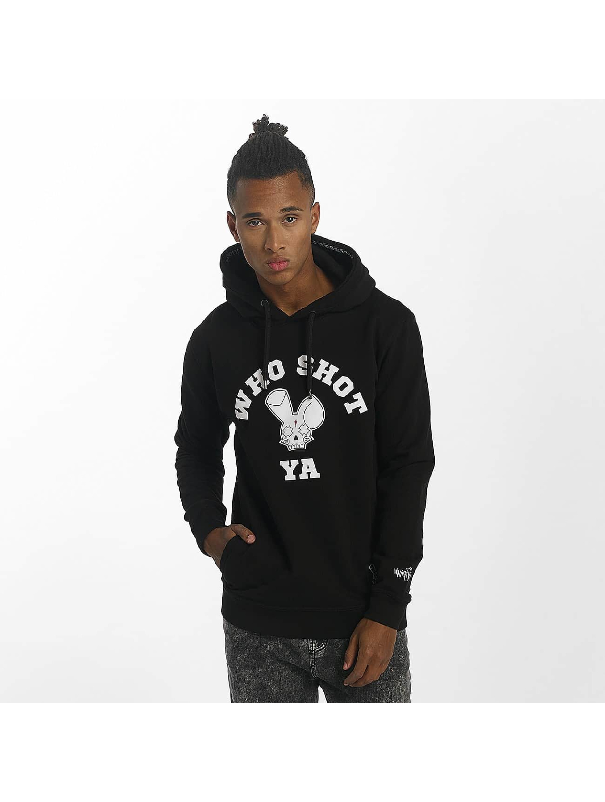 Who Shot Ya? / Hoodie Golden W Clan in black XL
