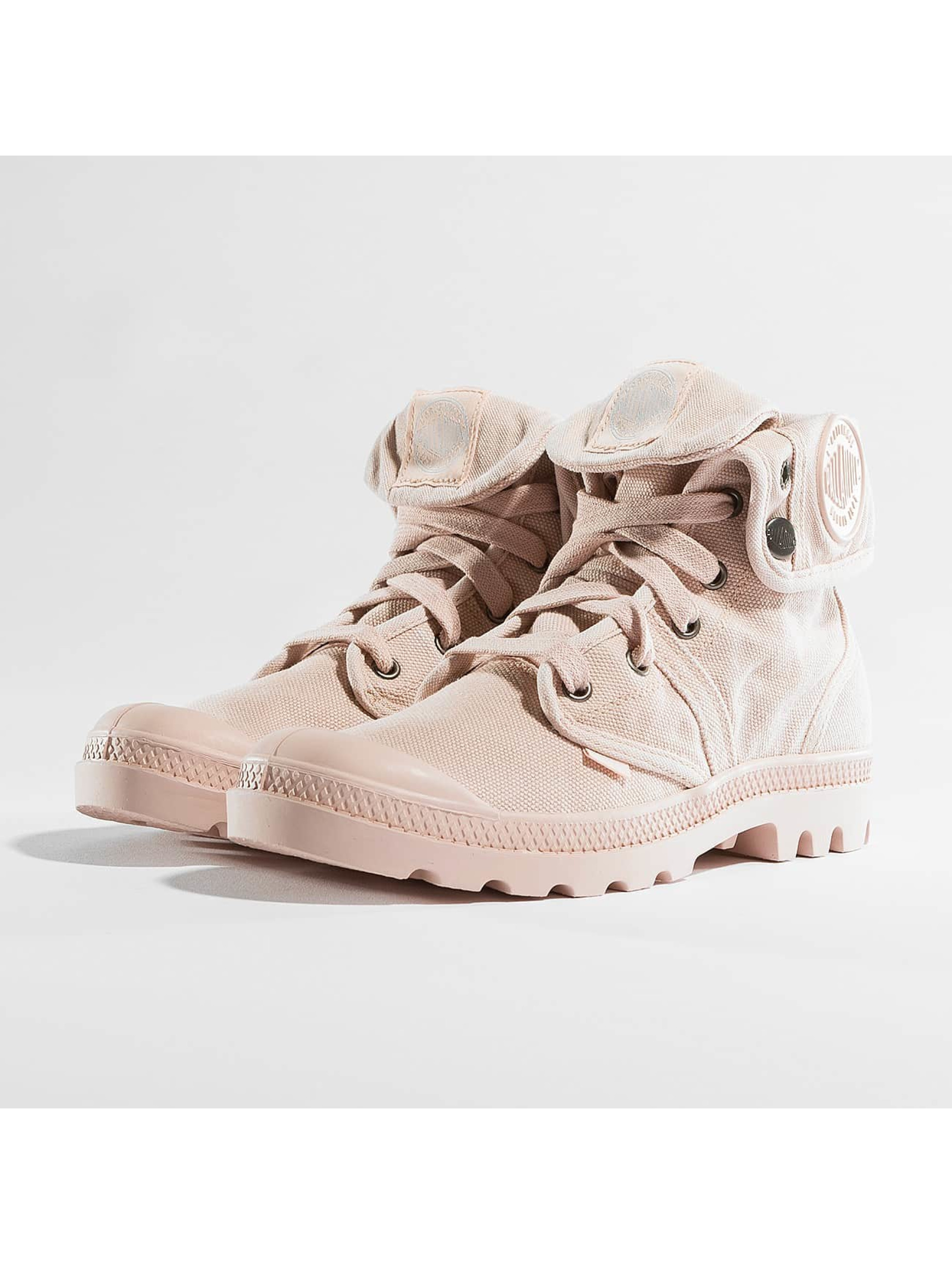 Palladium Frauen Boots Pallabrouse Baggy in rosa