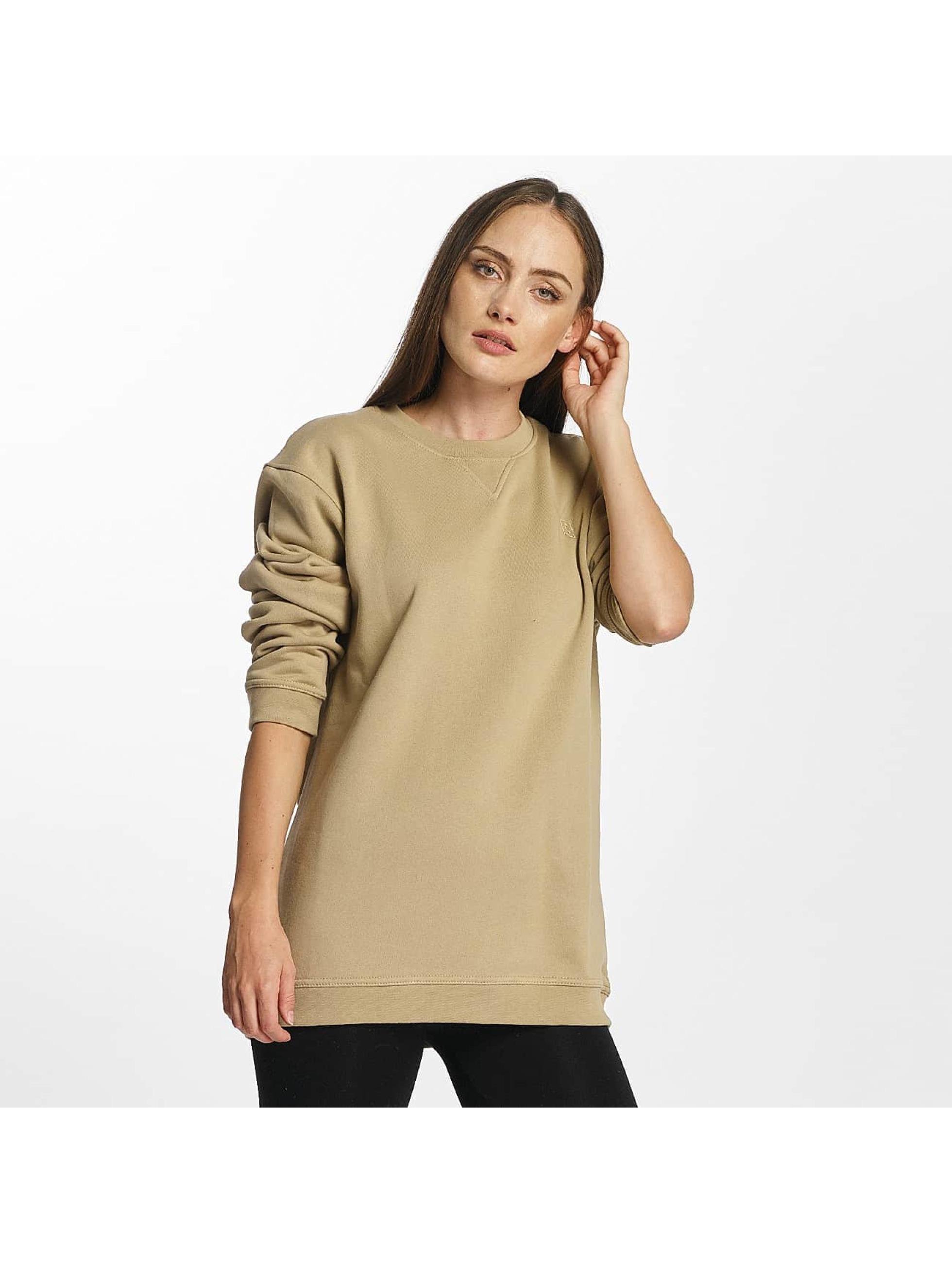 Cyprime Frauen Pullover Titanium Oversized in beige