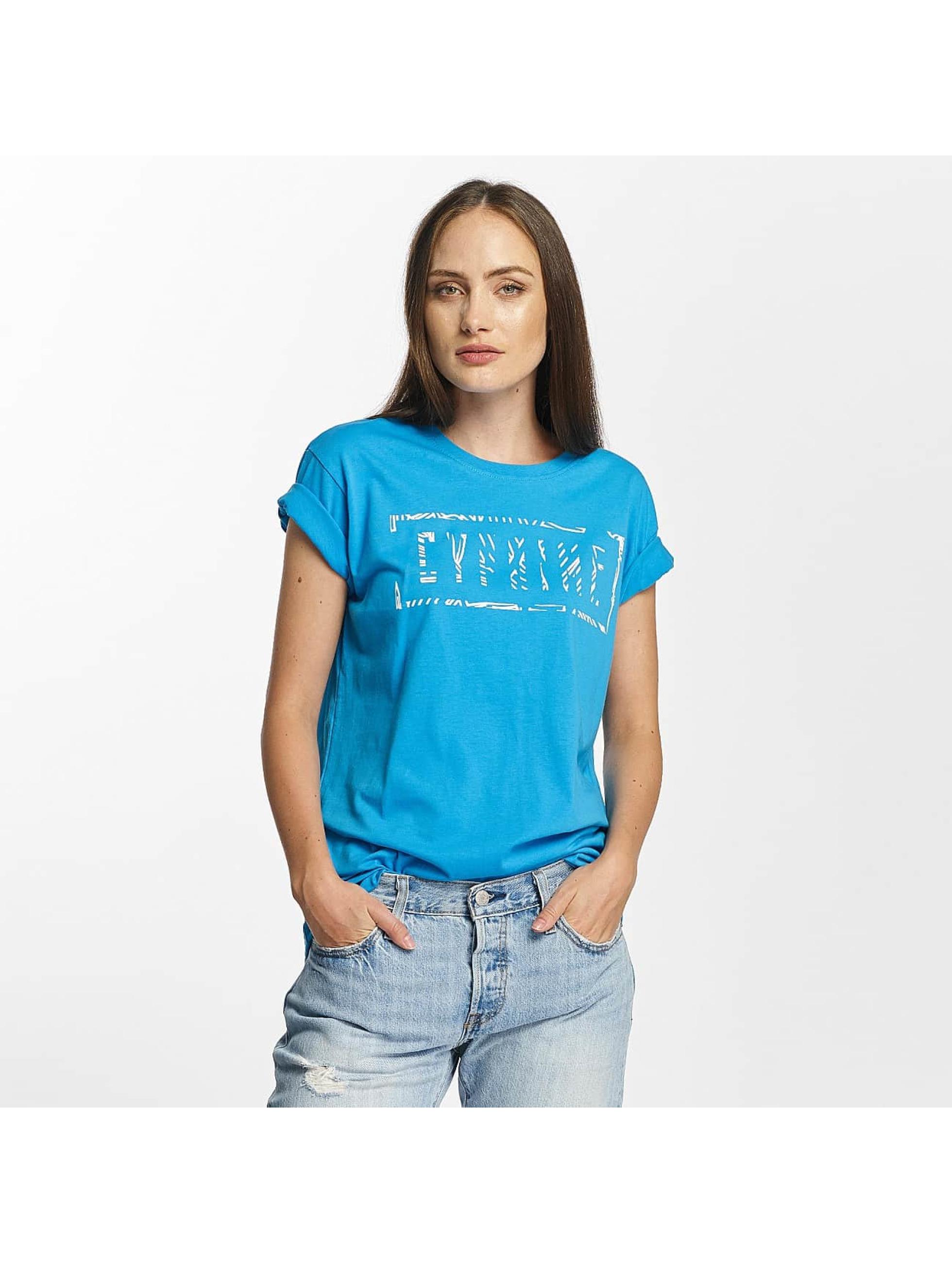 Cyprime Frauen T-Shirt Cerium Oversized in türkis