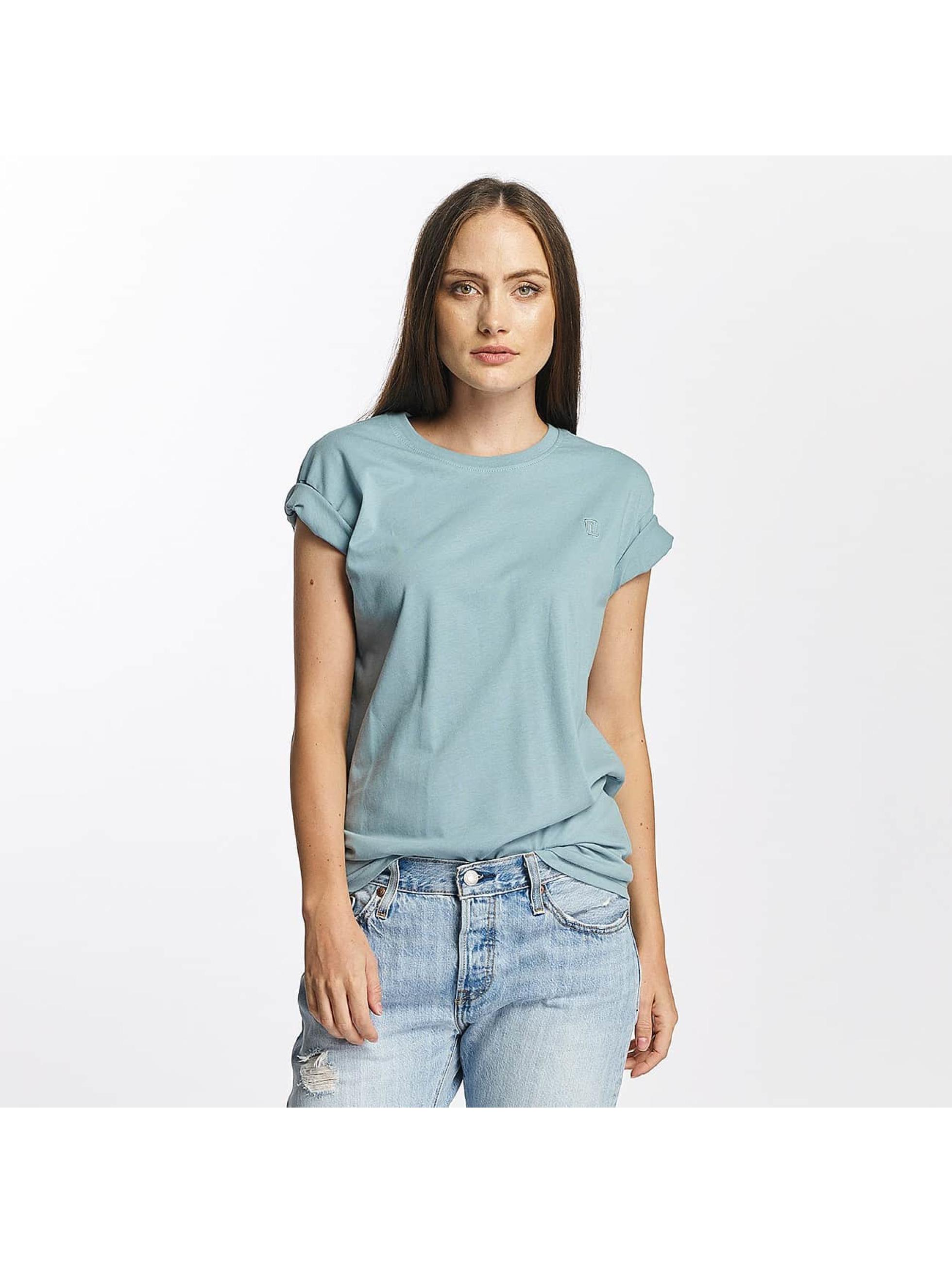 Cyprime Frauen T-Shirt Platinum Oversized in blau