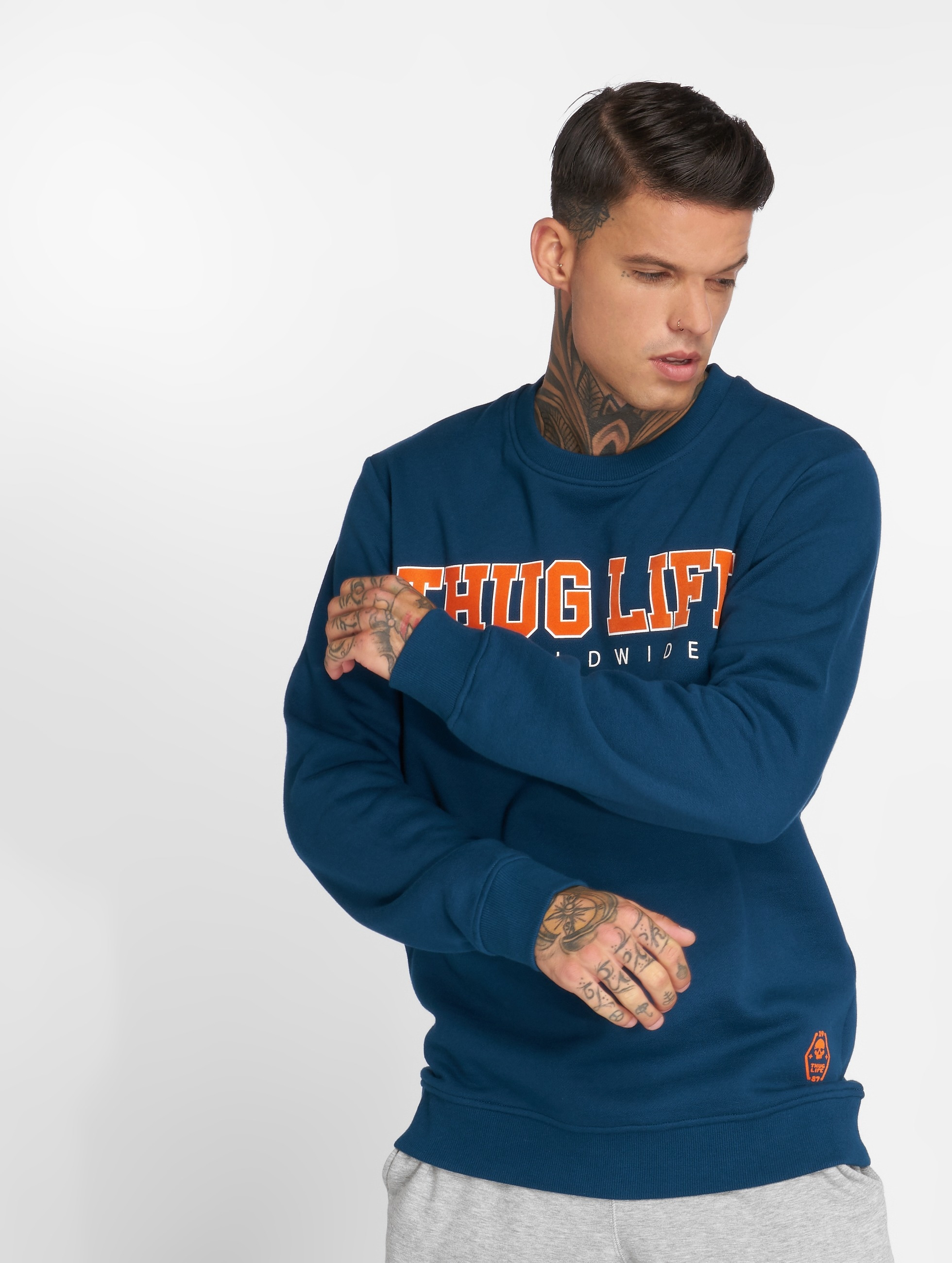 Thug Life / Jumper Blazer in blue XL