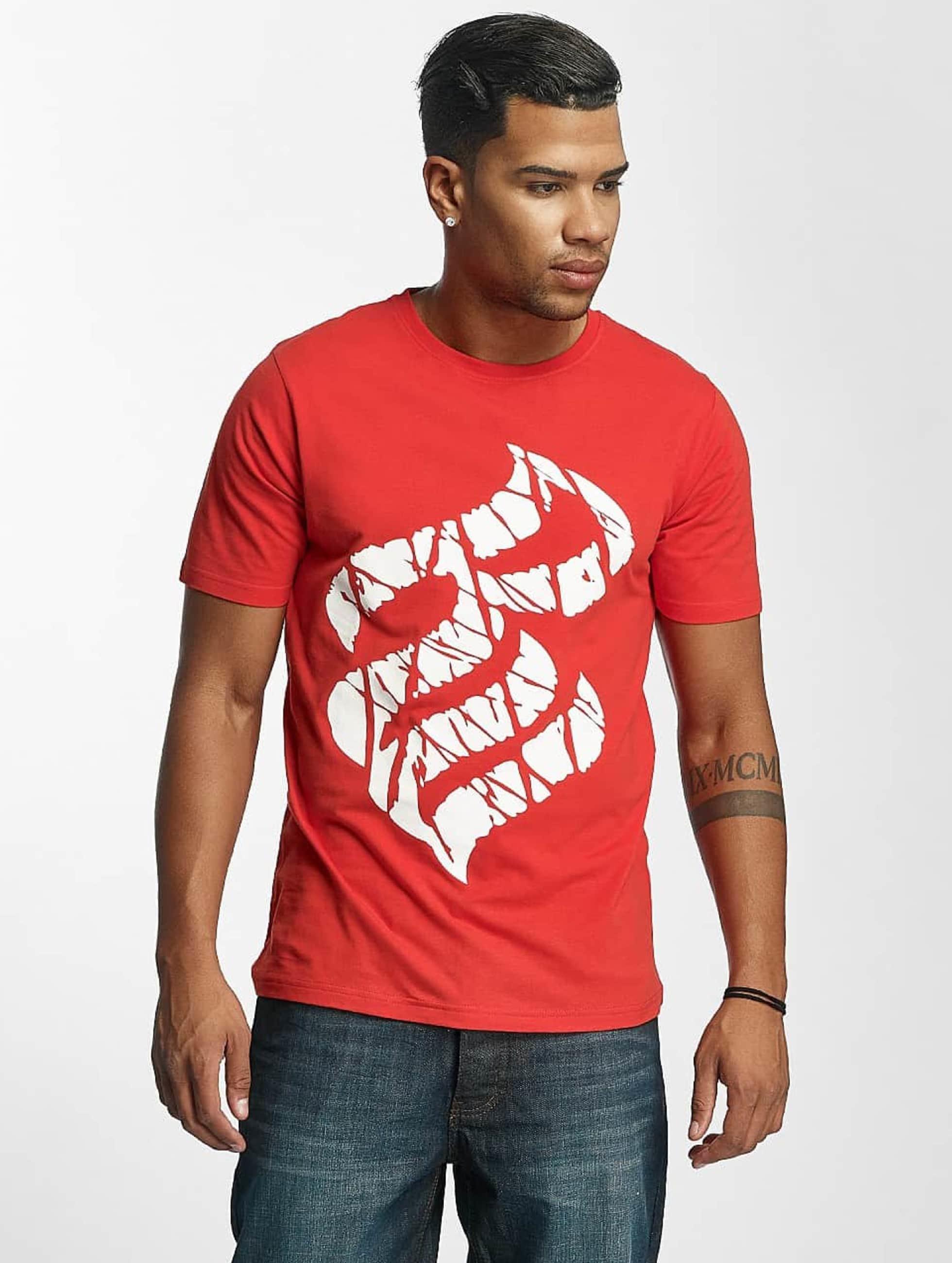 Rocawear Männer T-Shirt Fingerprint in rot