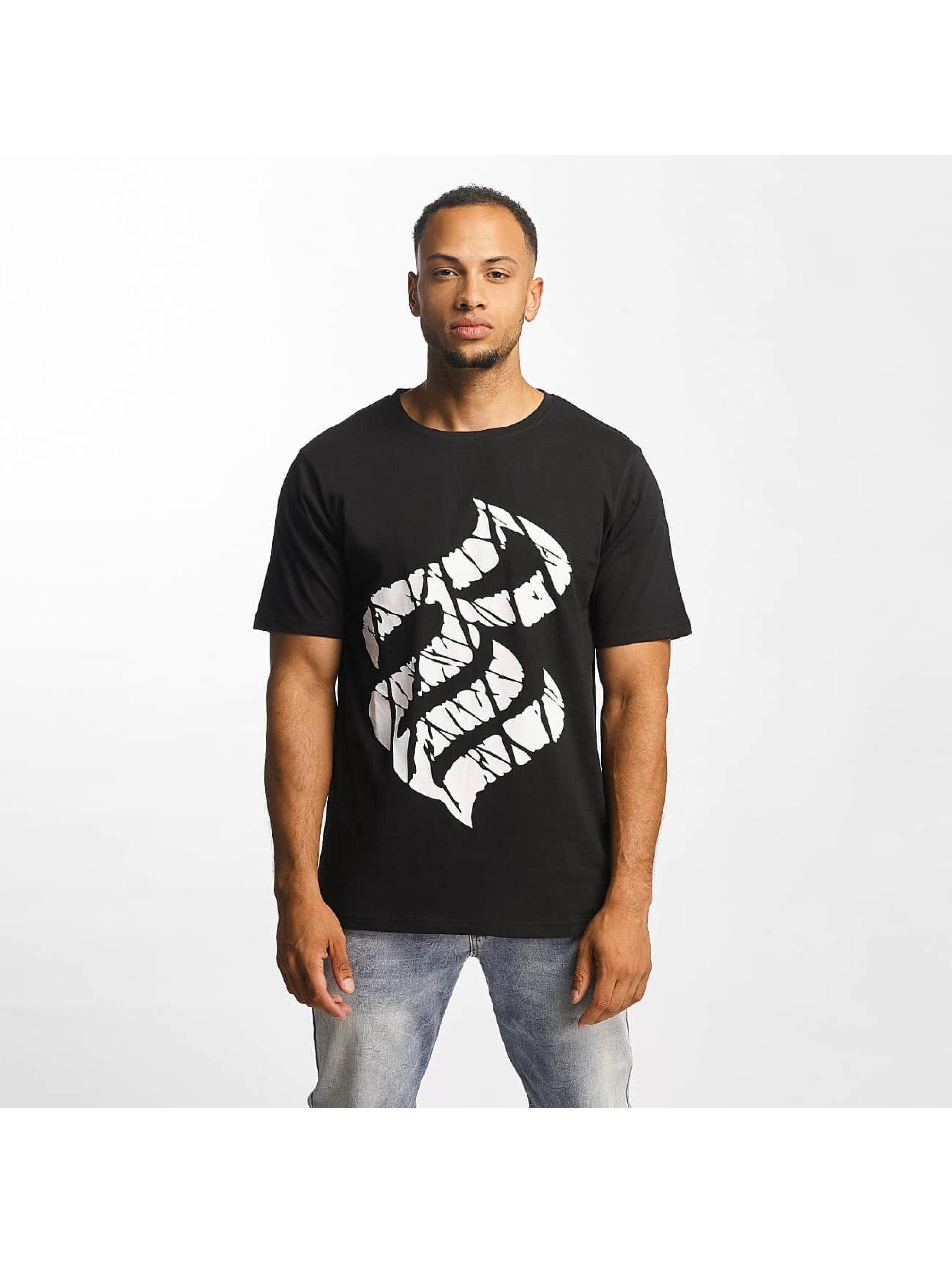 Rocawear Männer T-Shirt Fingerprint in schwarz