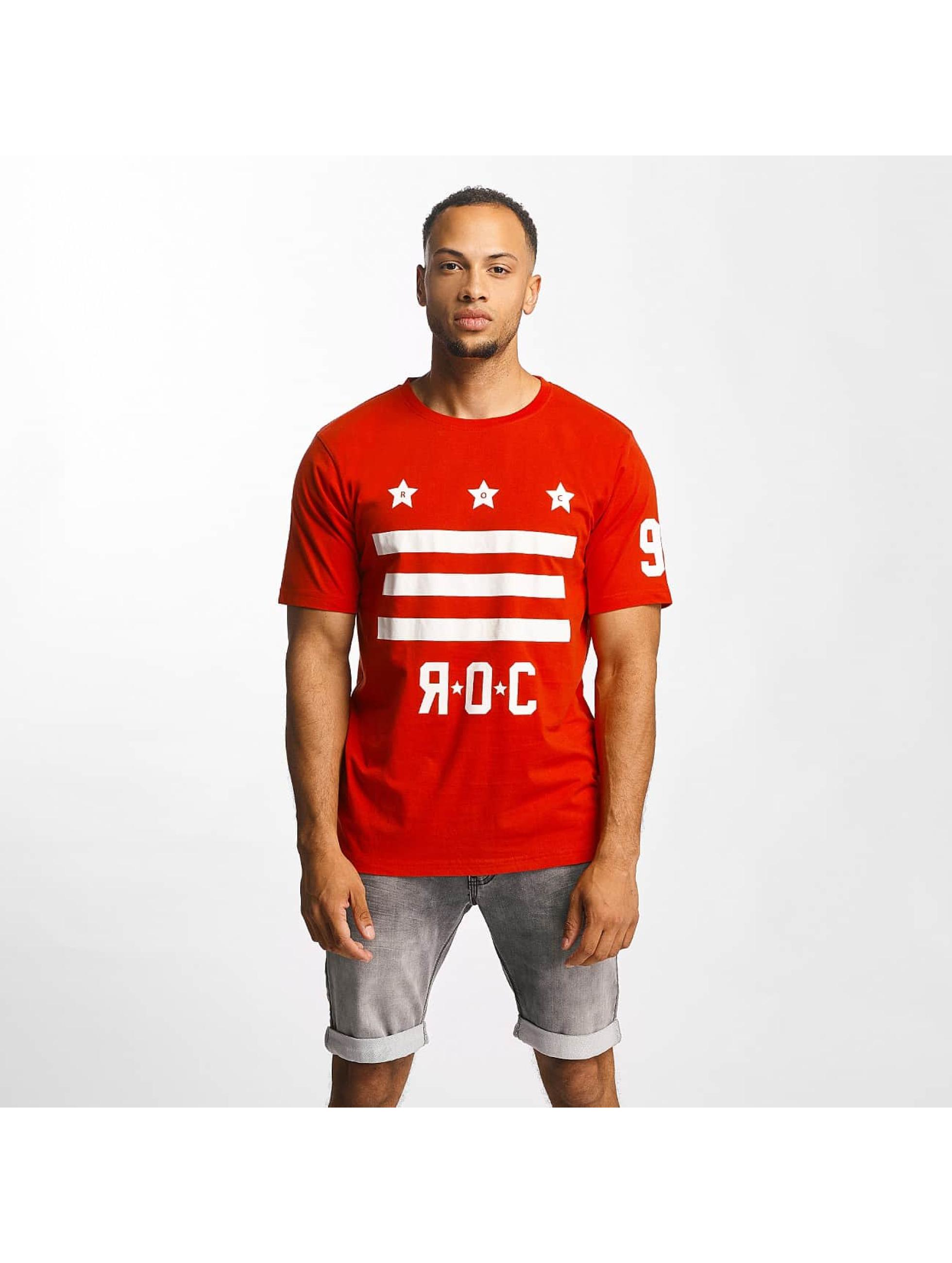 Rocawear Männer T-Shirt Brooklyn in rot