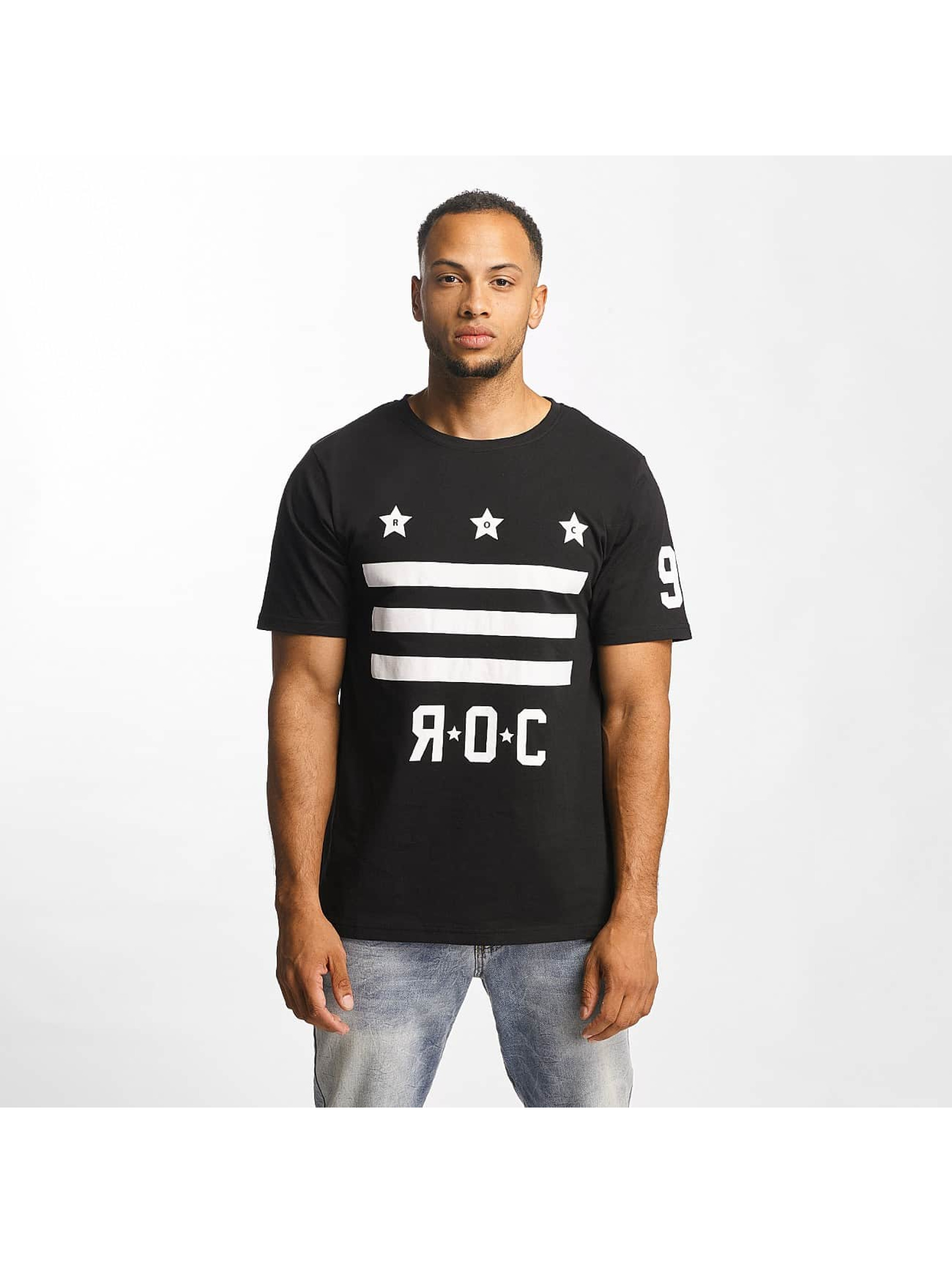 Rocawear Männer T-Shirt Brooklyn in schwarz