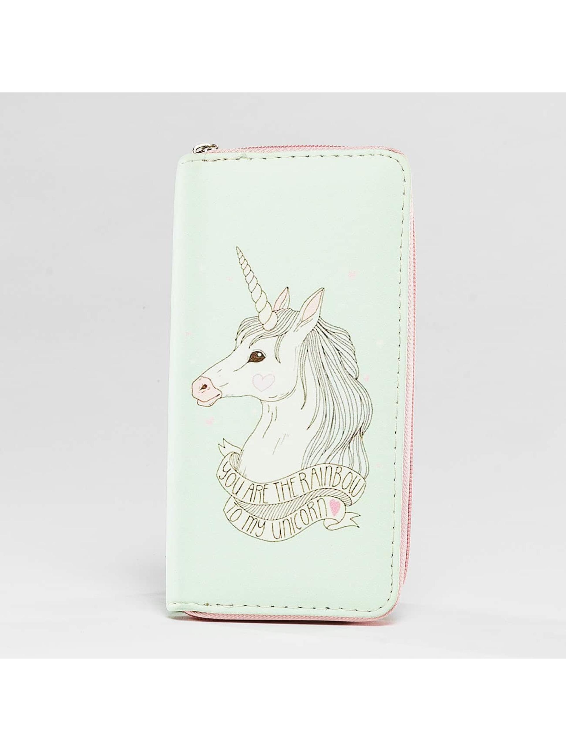 Hailys Frauen Geldbeutel Unicorn in bunt