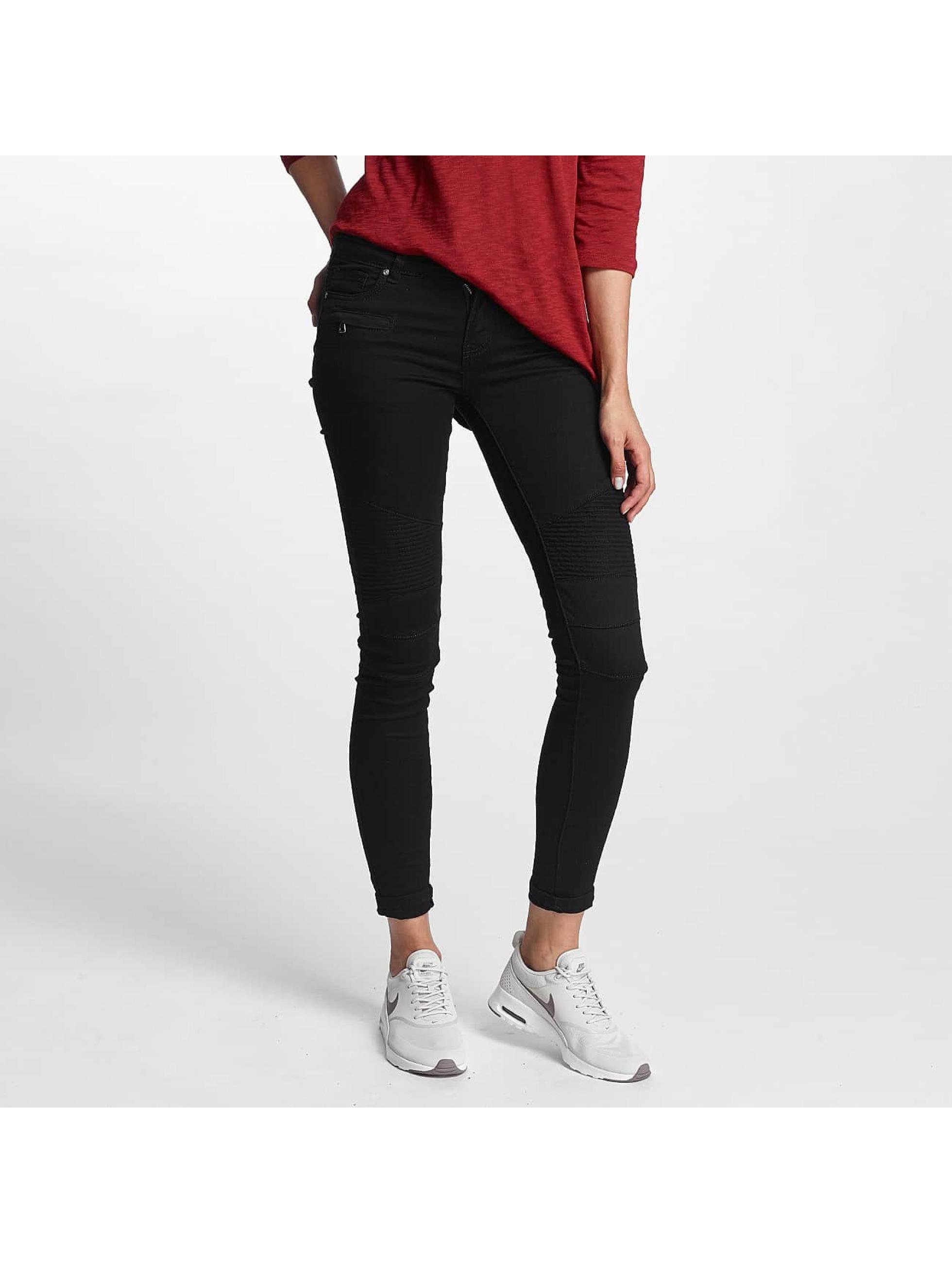 Hailys / Skinny Jeans Kina Biker in black