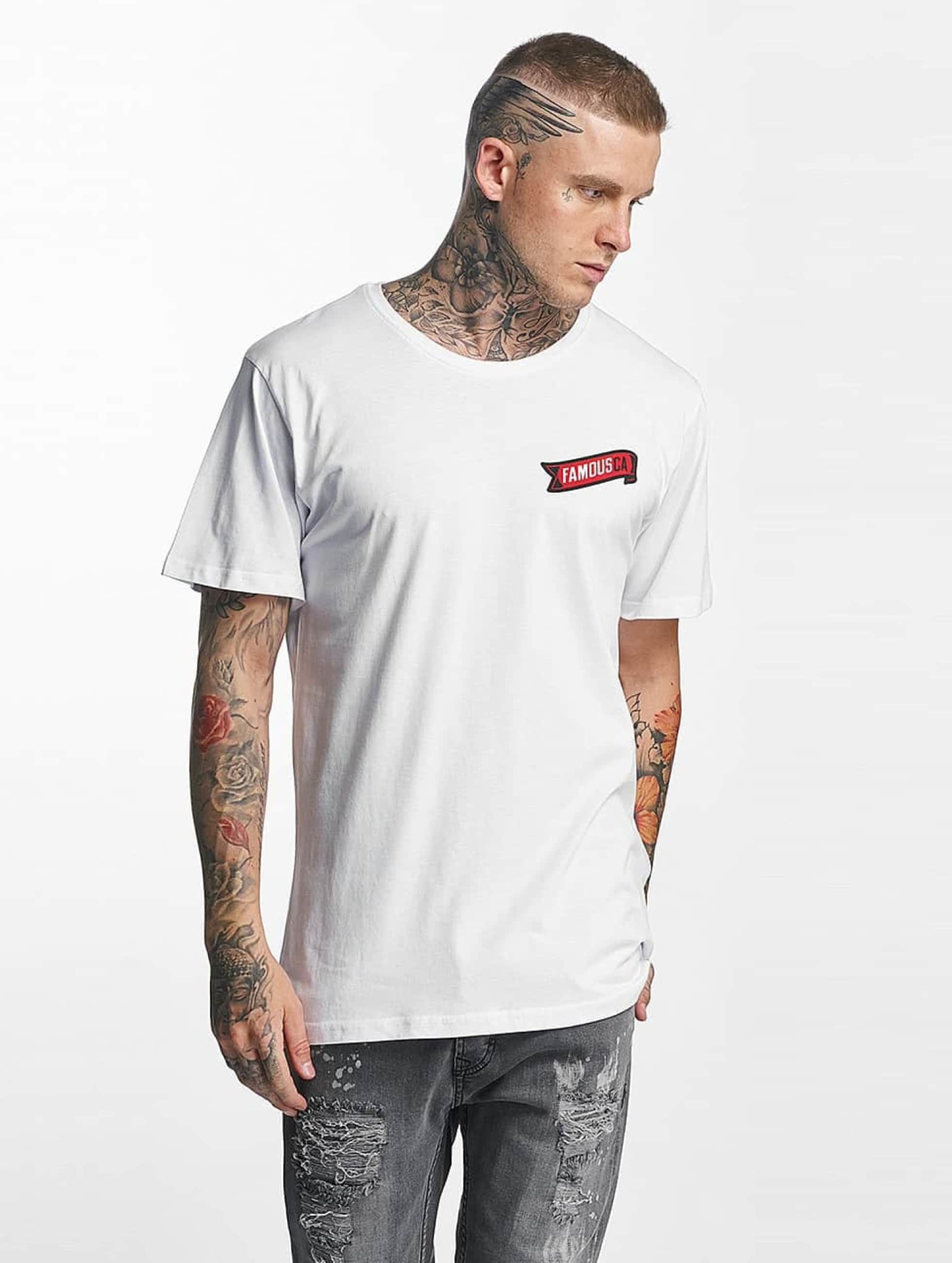 Famous Stars and Straps Männer T-Shirt CA in weiß