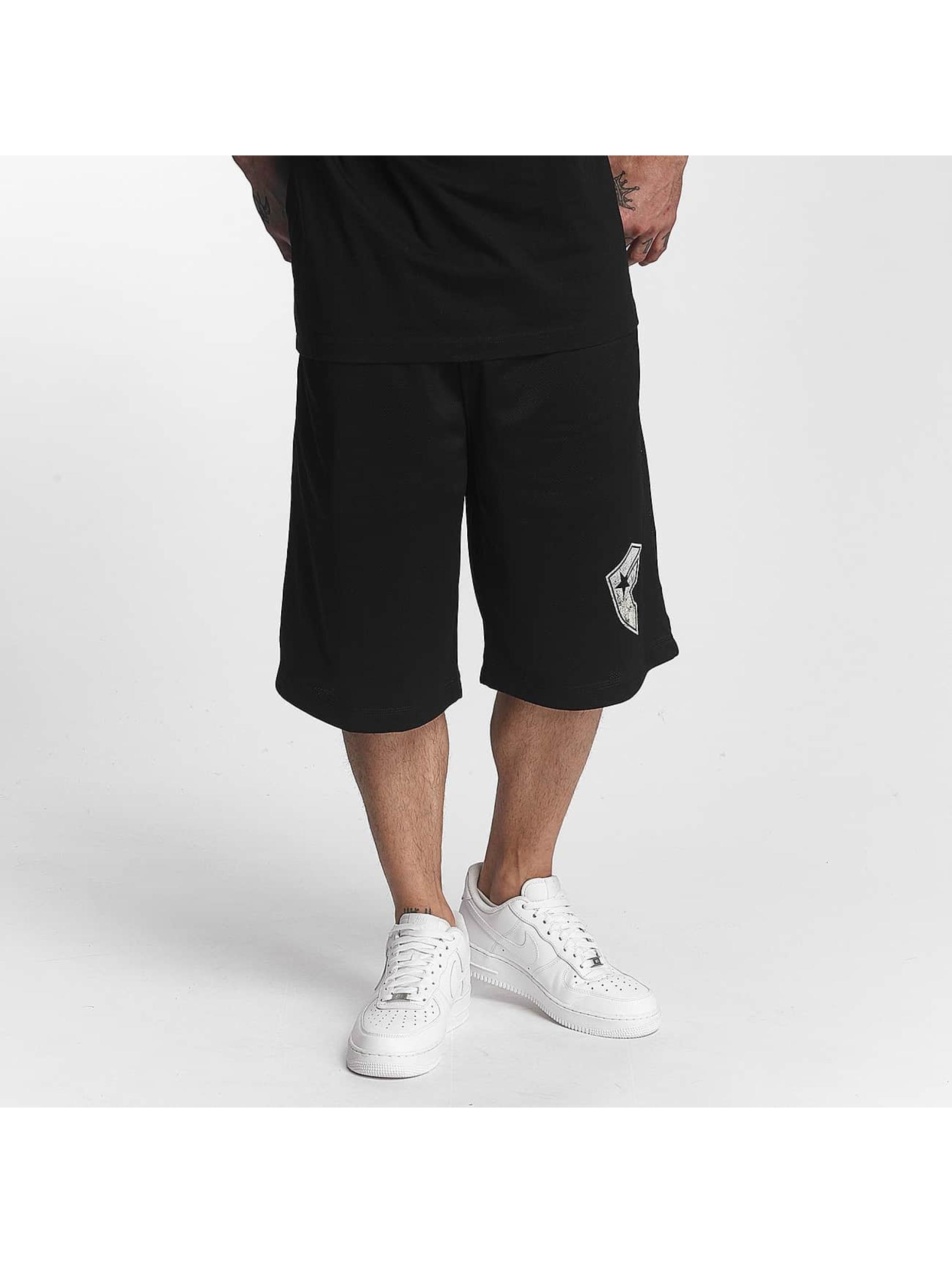Famous Stars and Straps Männer Shorts Logo in schwarz