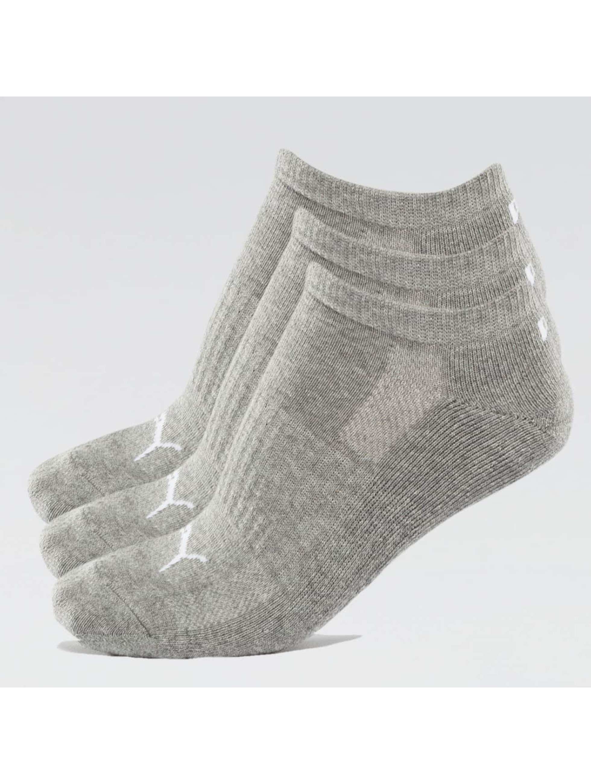Puma Männer,Frauen Socken 2-Pack Cushioned Sneakers in grau