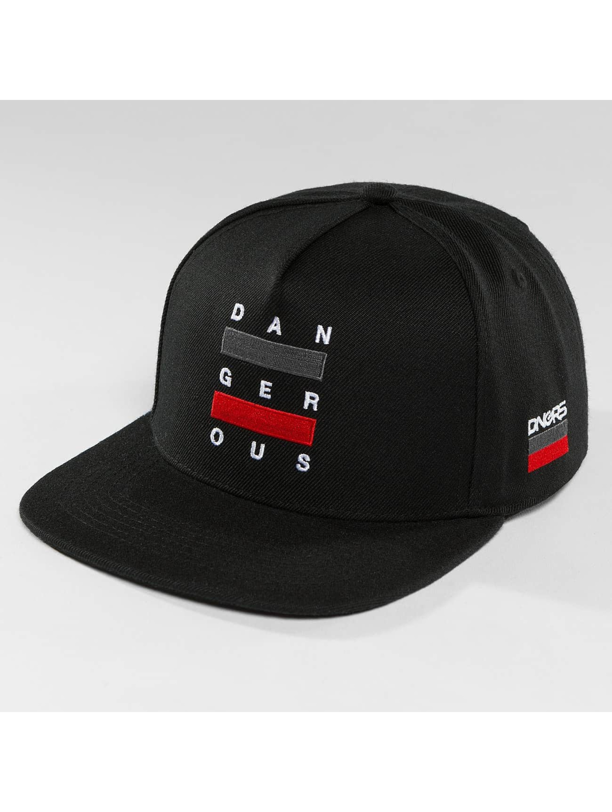 Dangerous DNGRS / Snapback Cap Uncaged in black one size