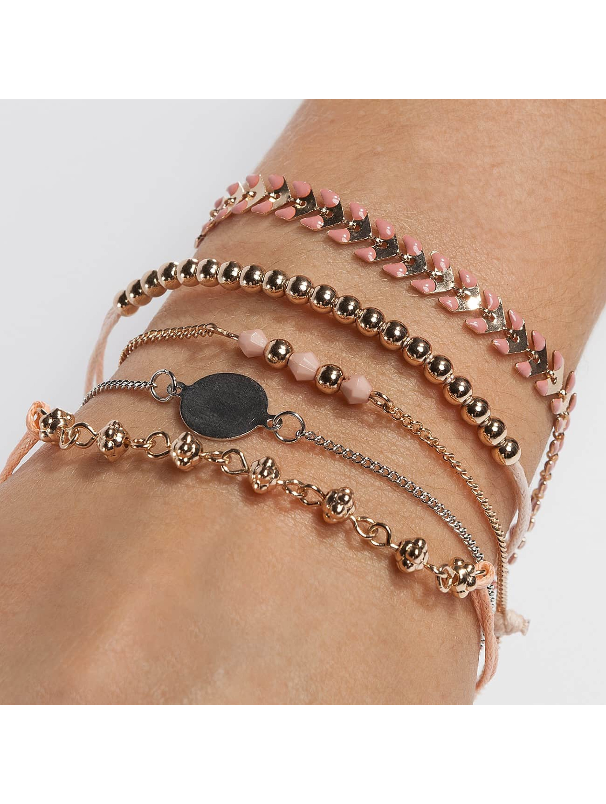 Only Frauen Armband onlBetty 5 Pack in rosa