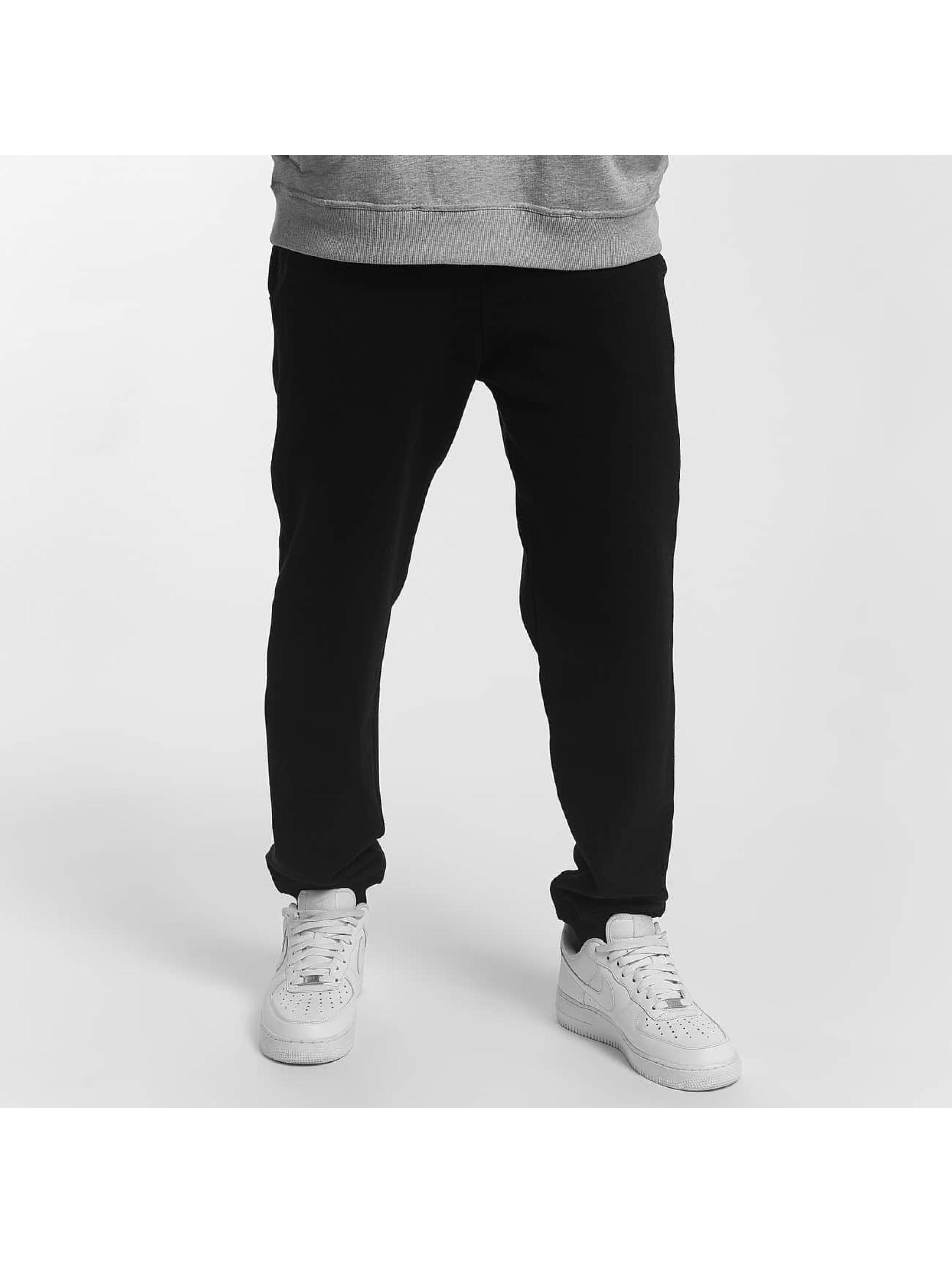 Dangerous DNGRS / Sweat Pant Twoblock in black 4XL