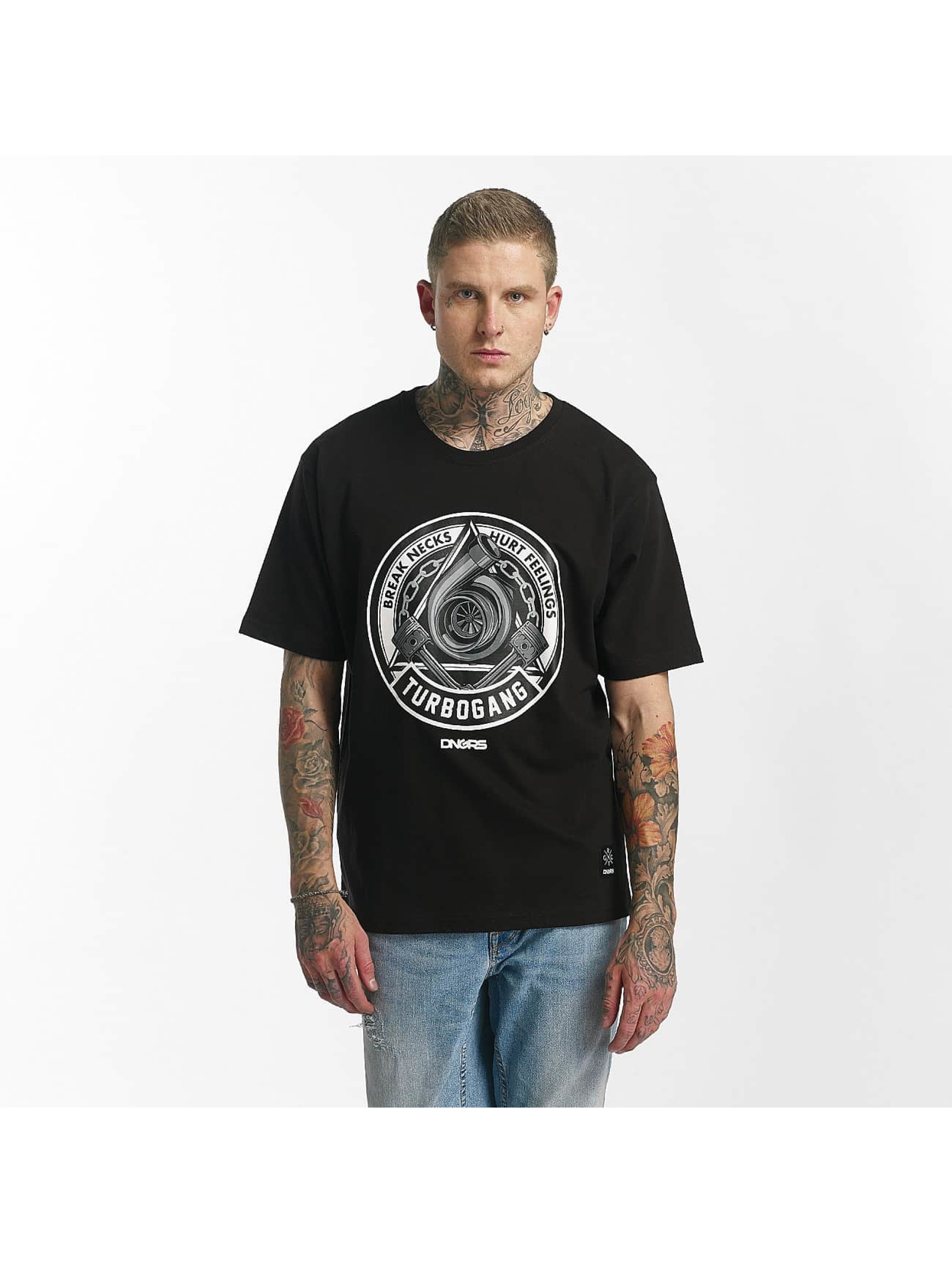 Dangerous DNGRS / T-Shirt Race City Illuminati in black 3XL