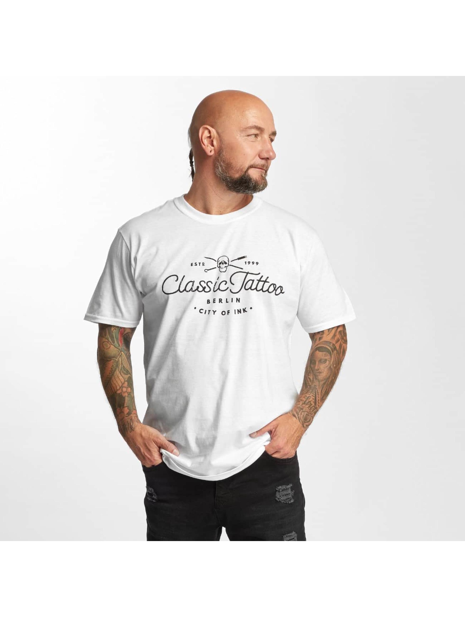 I Love Tattoo Männer T-Shirt City Of Ink in weiß