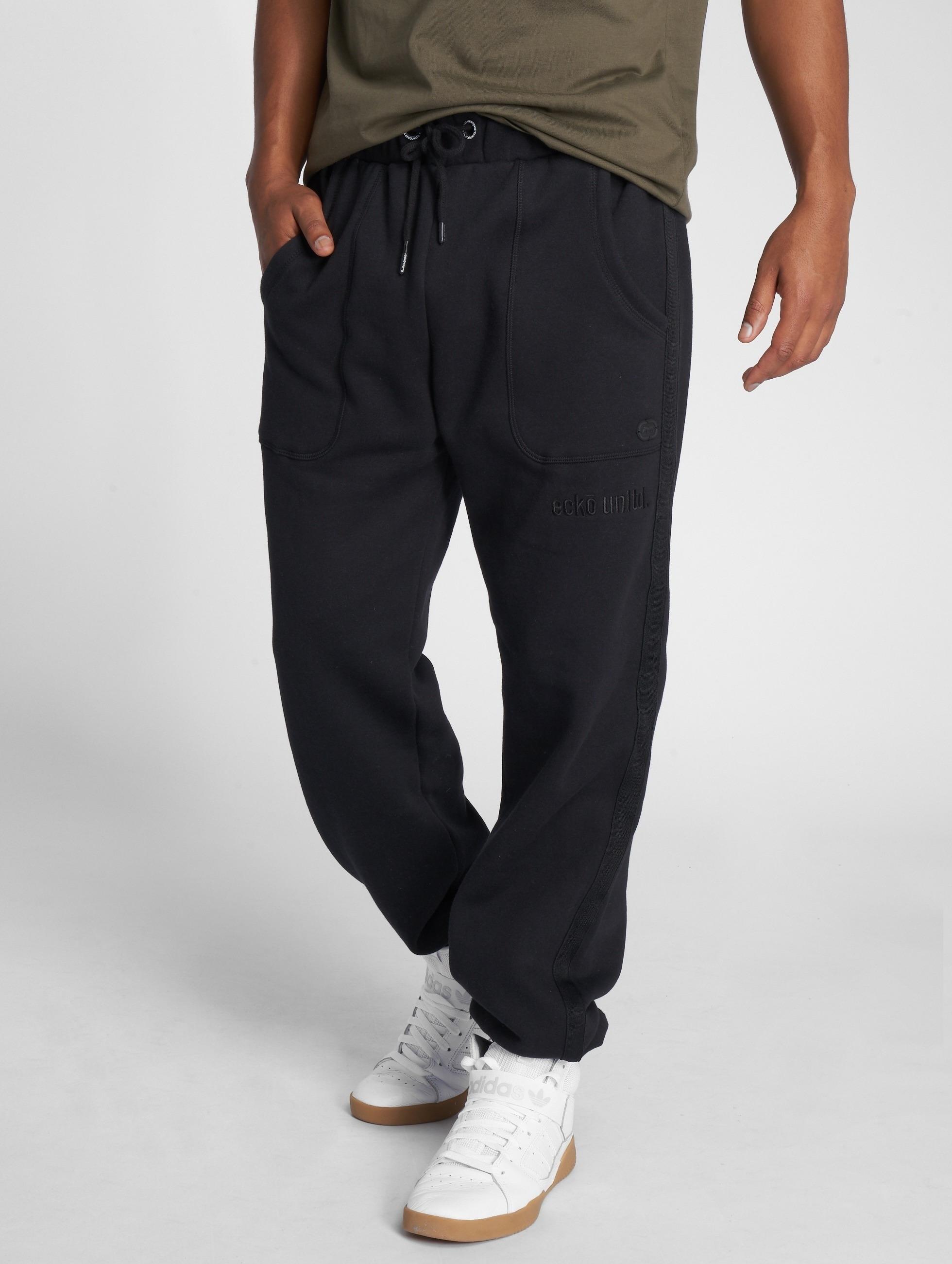 Ecko Unltd. / Sweat Pant Square 72 in black XL