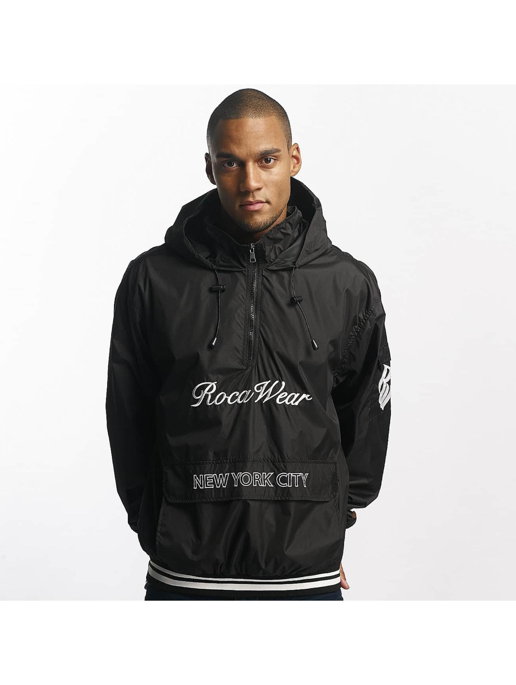Rocawear / Lightweight Jacket Windbreaker in black XL