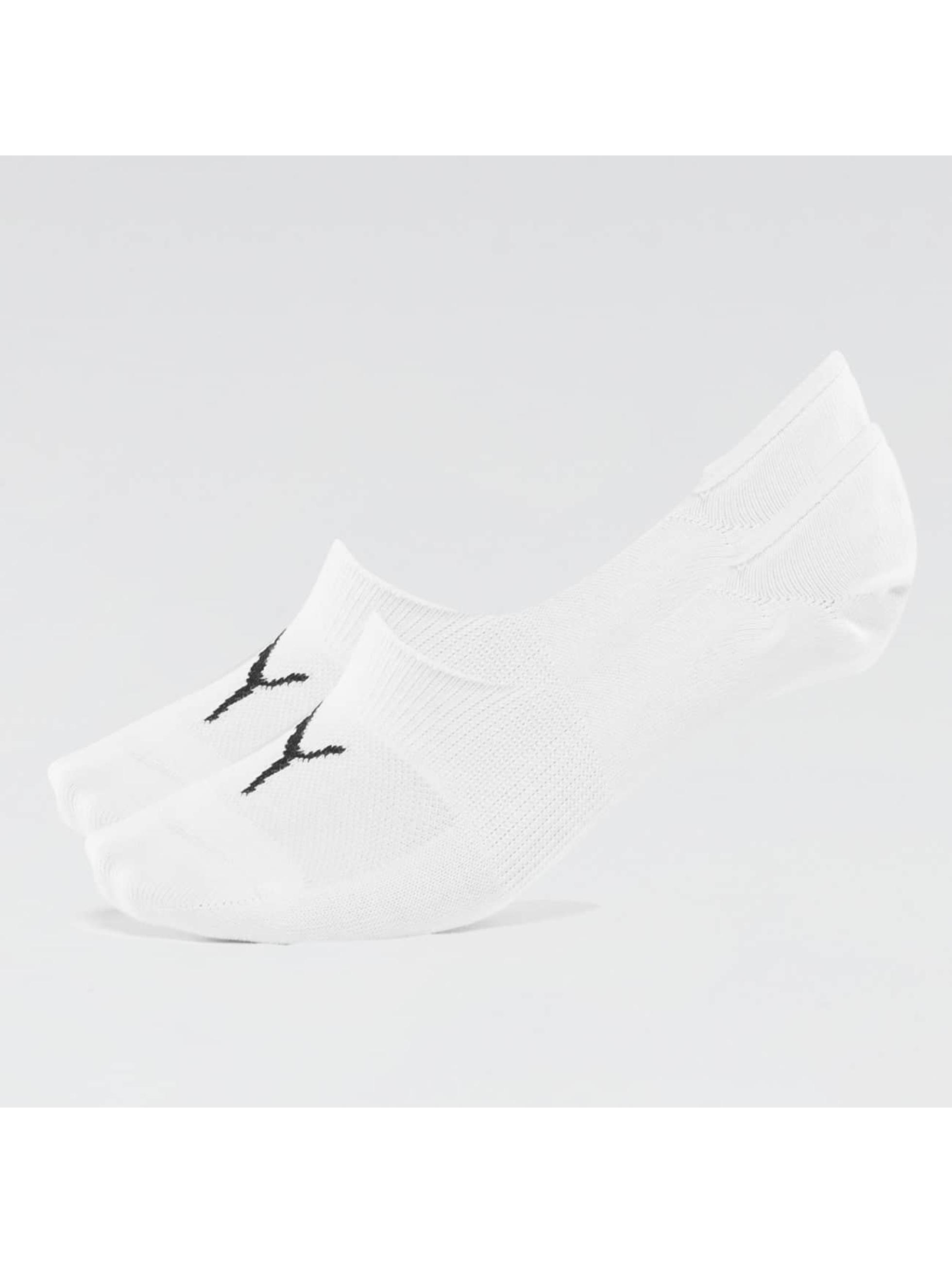 Puma Männer,Frauen Socken 2-Pack Footies in weiß