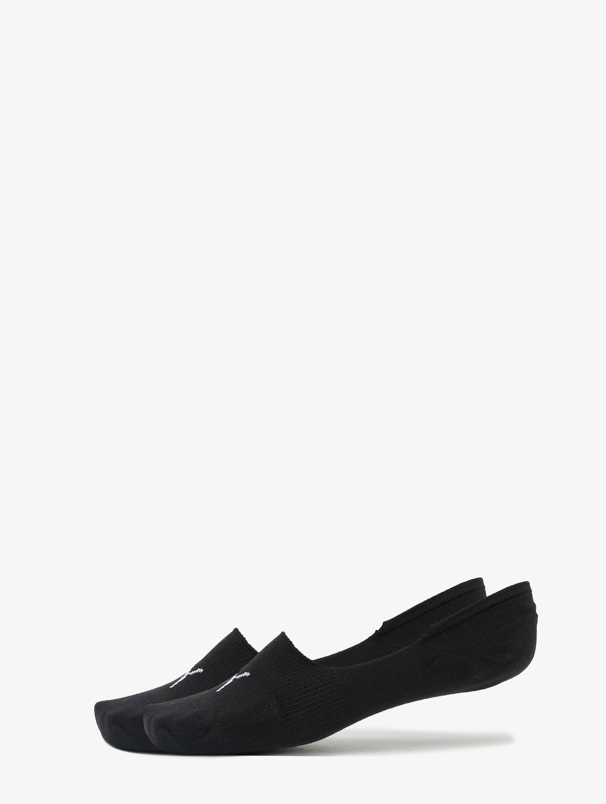 Puma Männer,Frauen Socken 2-Pack Footies in schwarz