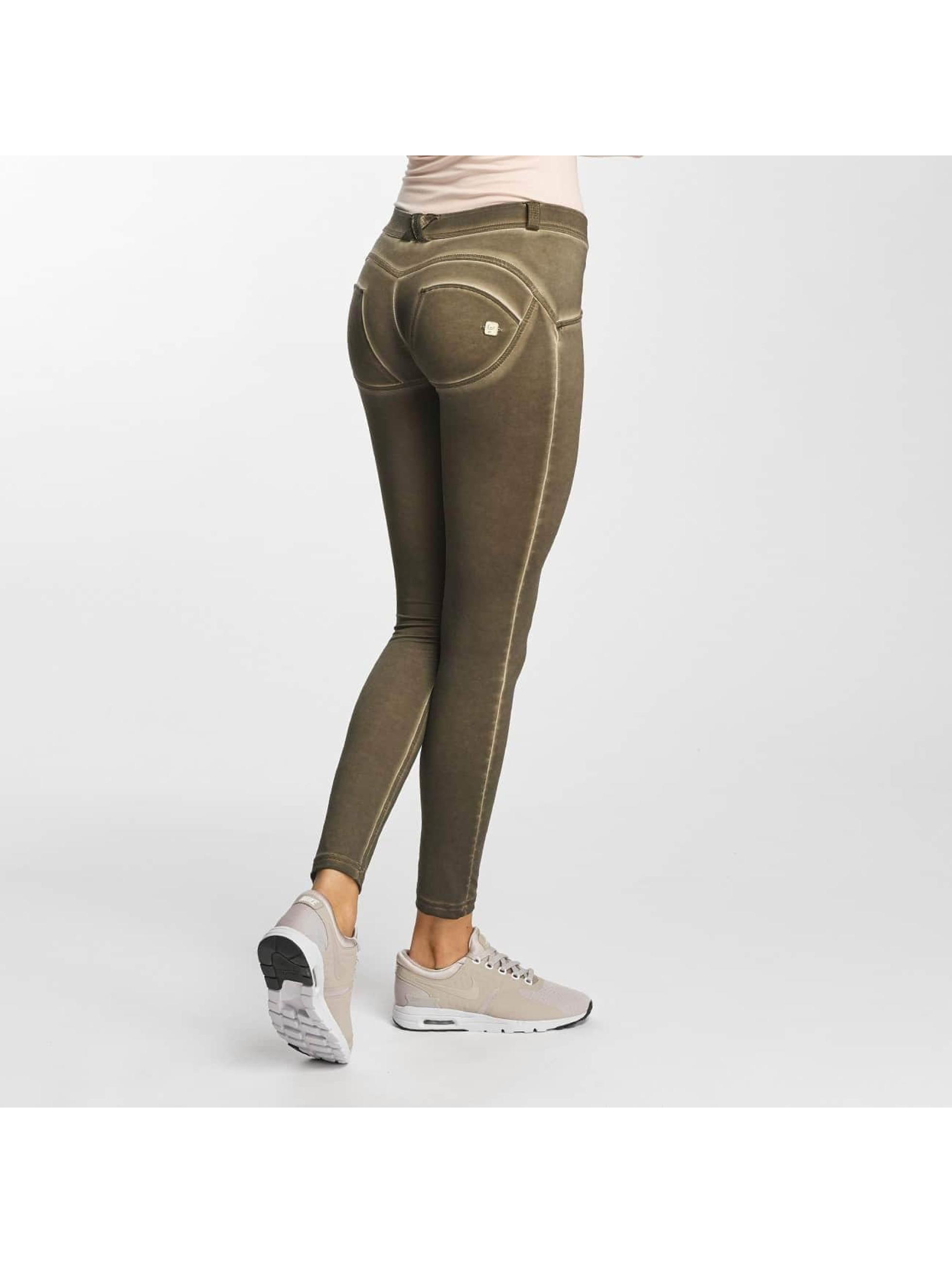 Freddy Frauen Skinny Jeans Regular Waist in braun