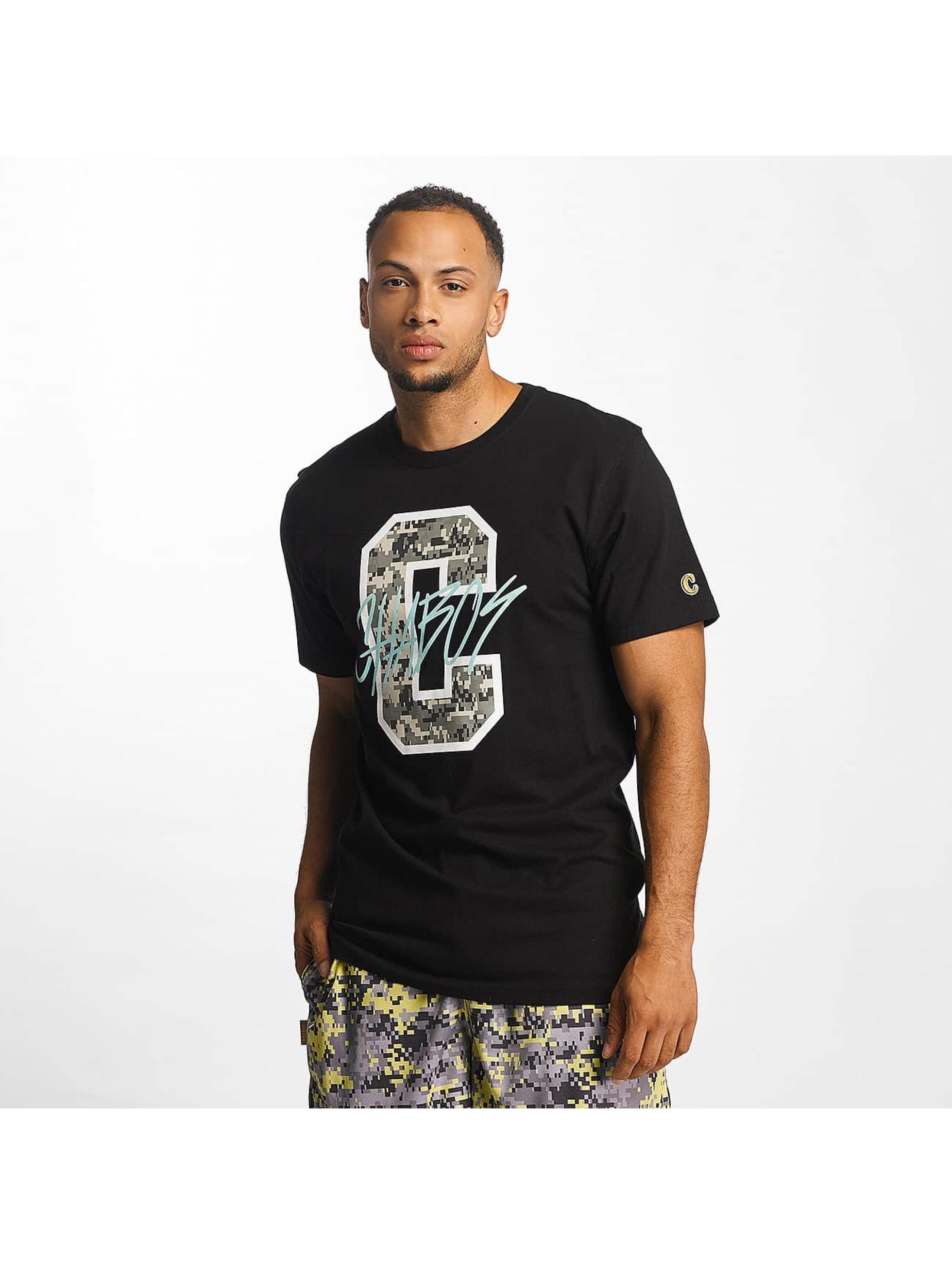 CHABOS IIVII Männer T-Shirt C in schwarz