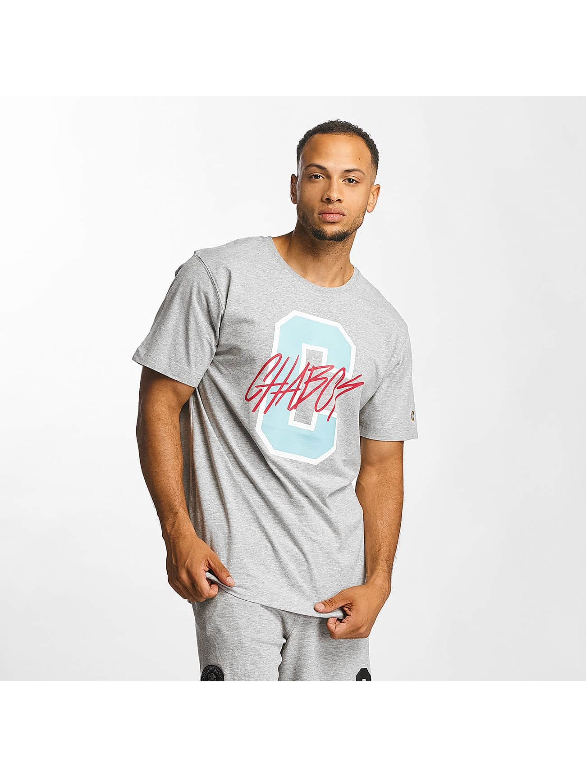 CHABOS IIVII Männer T-Shirt C in grau