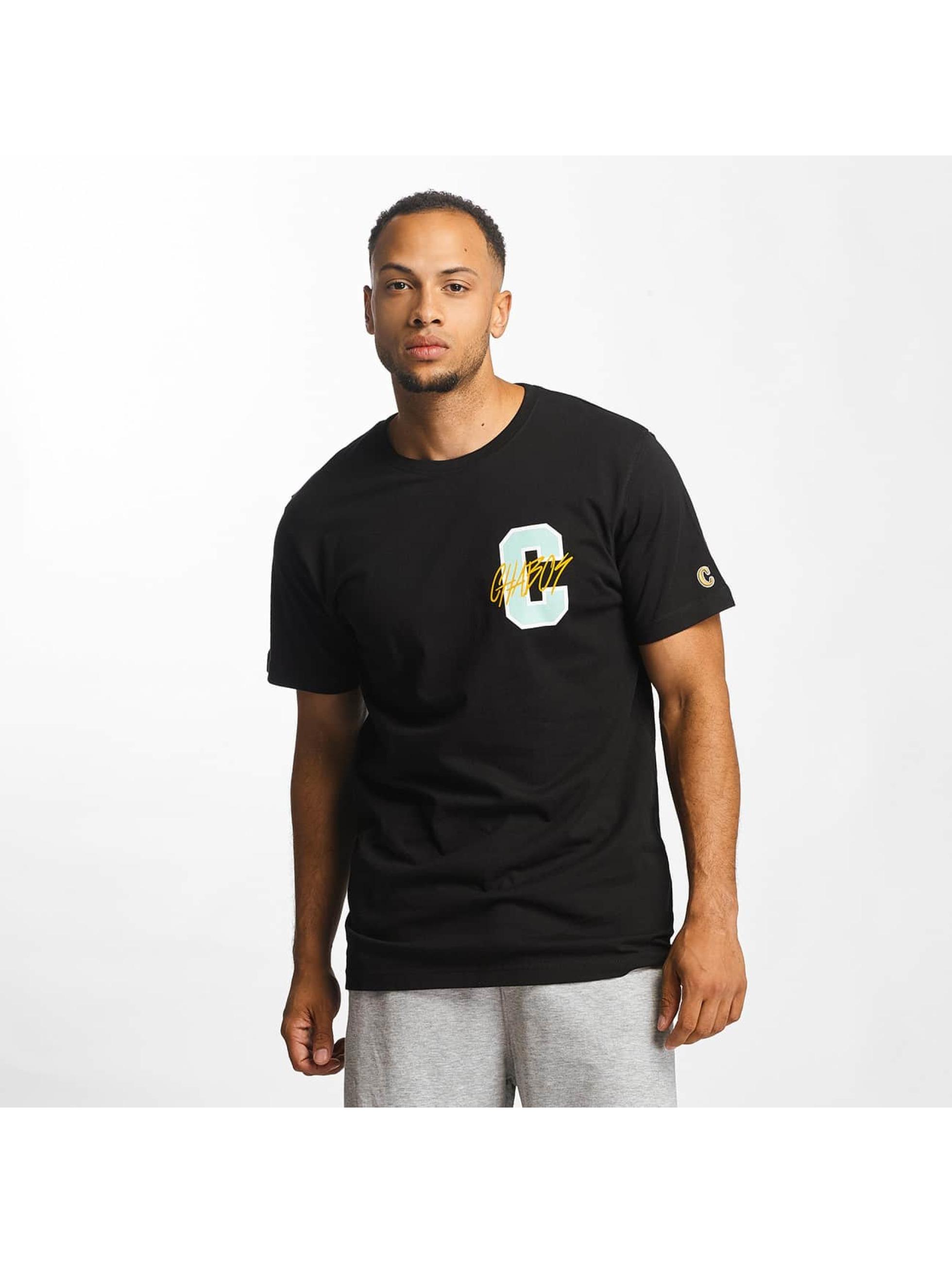 CHABOS IIVII Männer T-Shirt College in schwarz