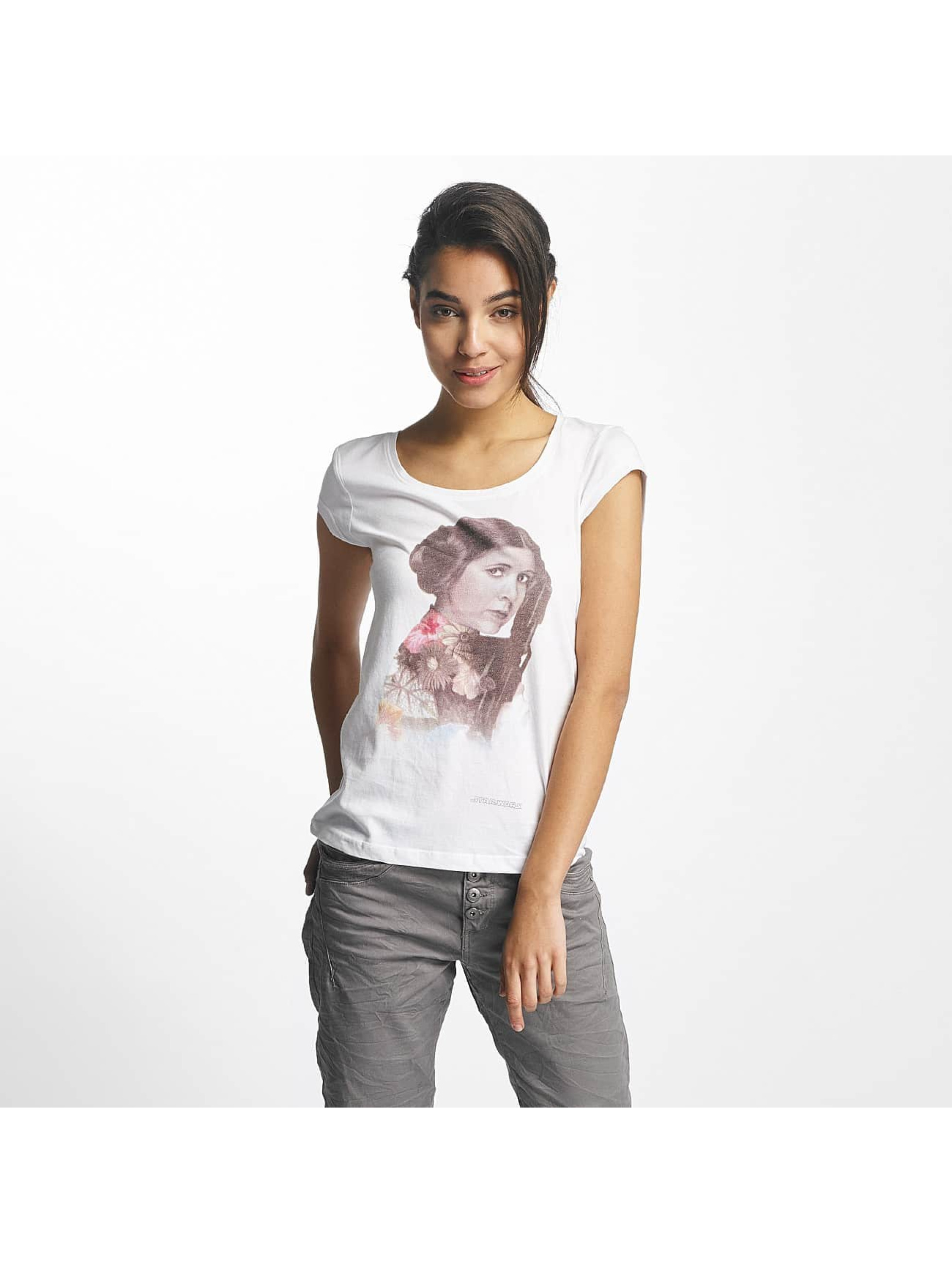 Rock Angel Frauen T-Shirt Angel Leo in weiß