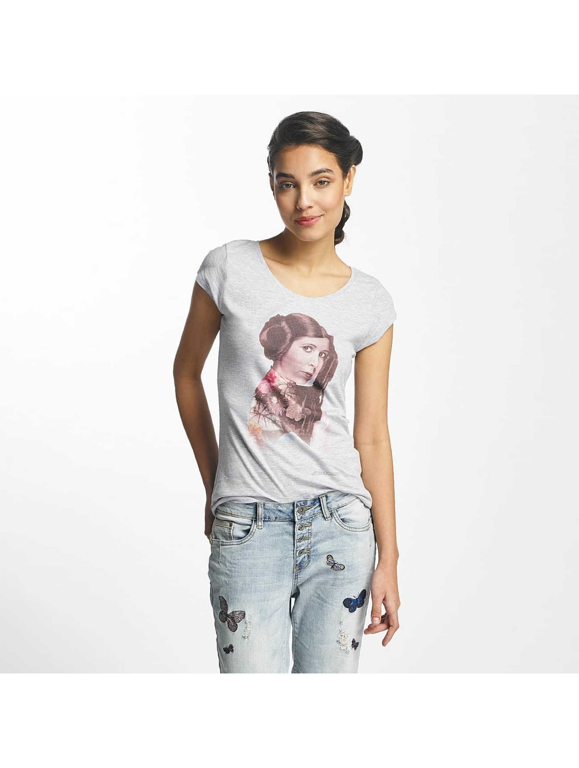 Rock Angel Frauen T-Shirt Leo in grau