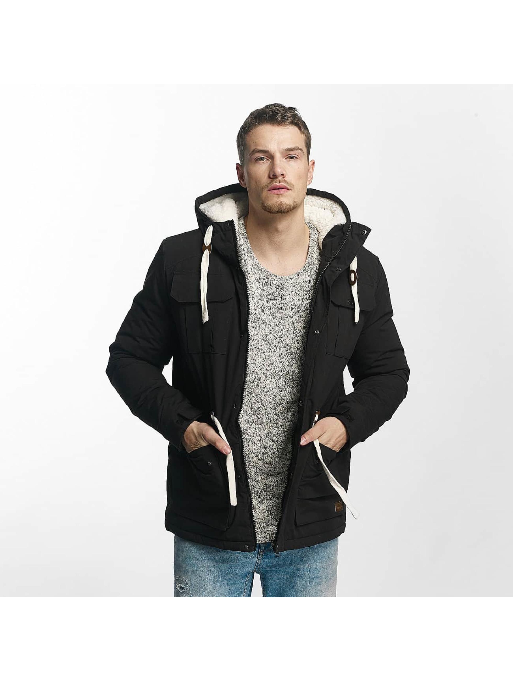 Sky Rebel Männer Winterjacke Jacket Black in schwarz