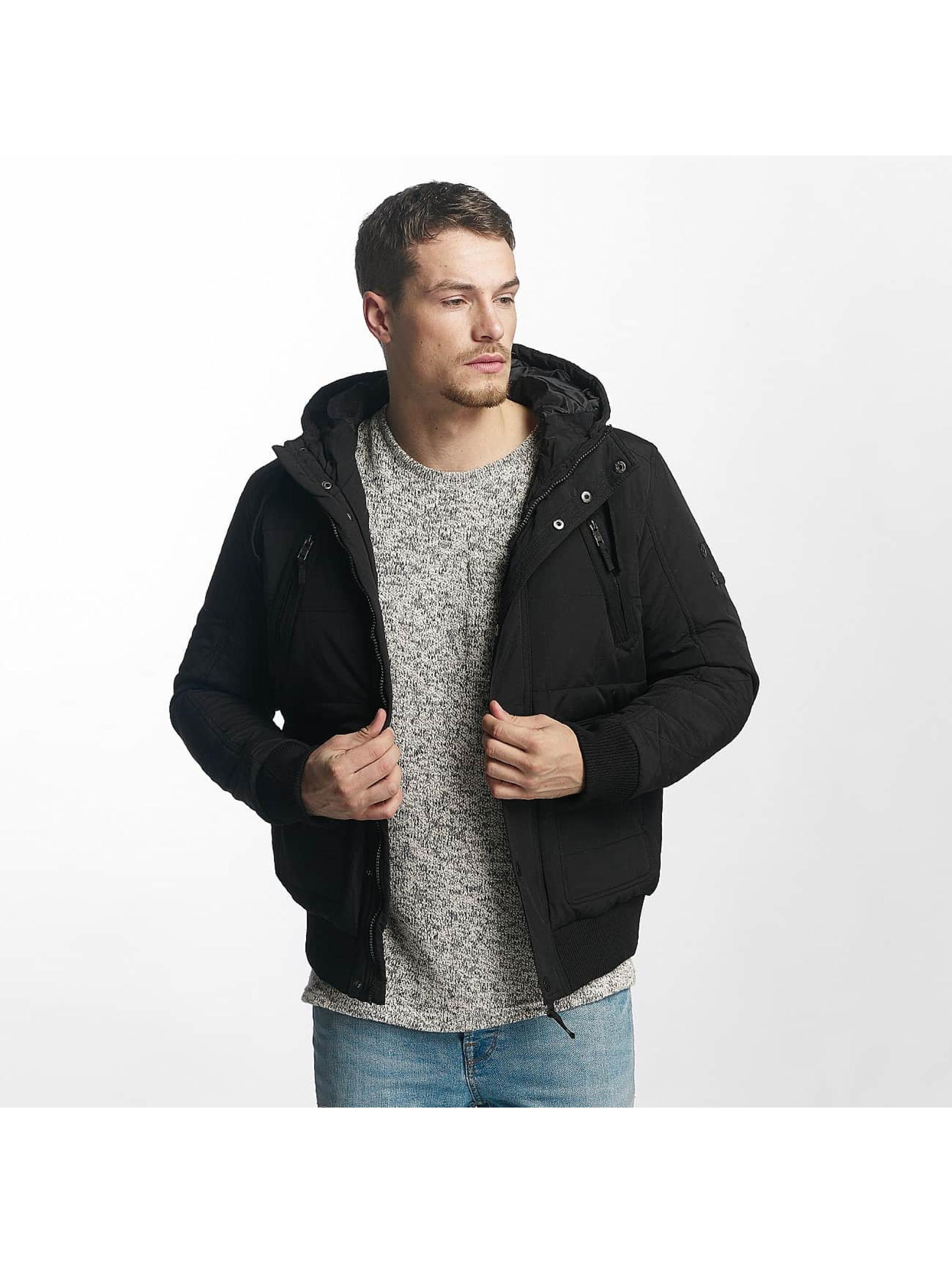 98-86 Männer Winterjacke Jacket in schwarz