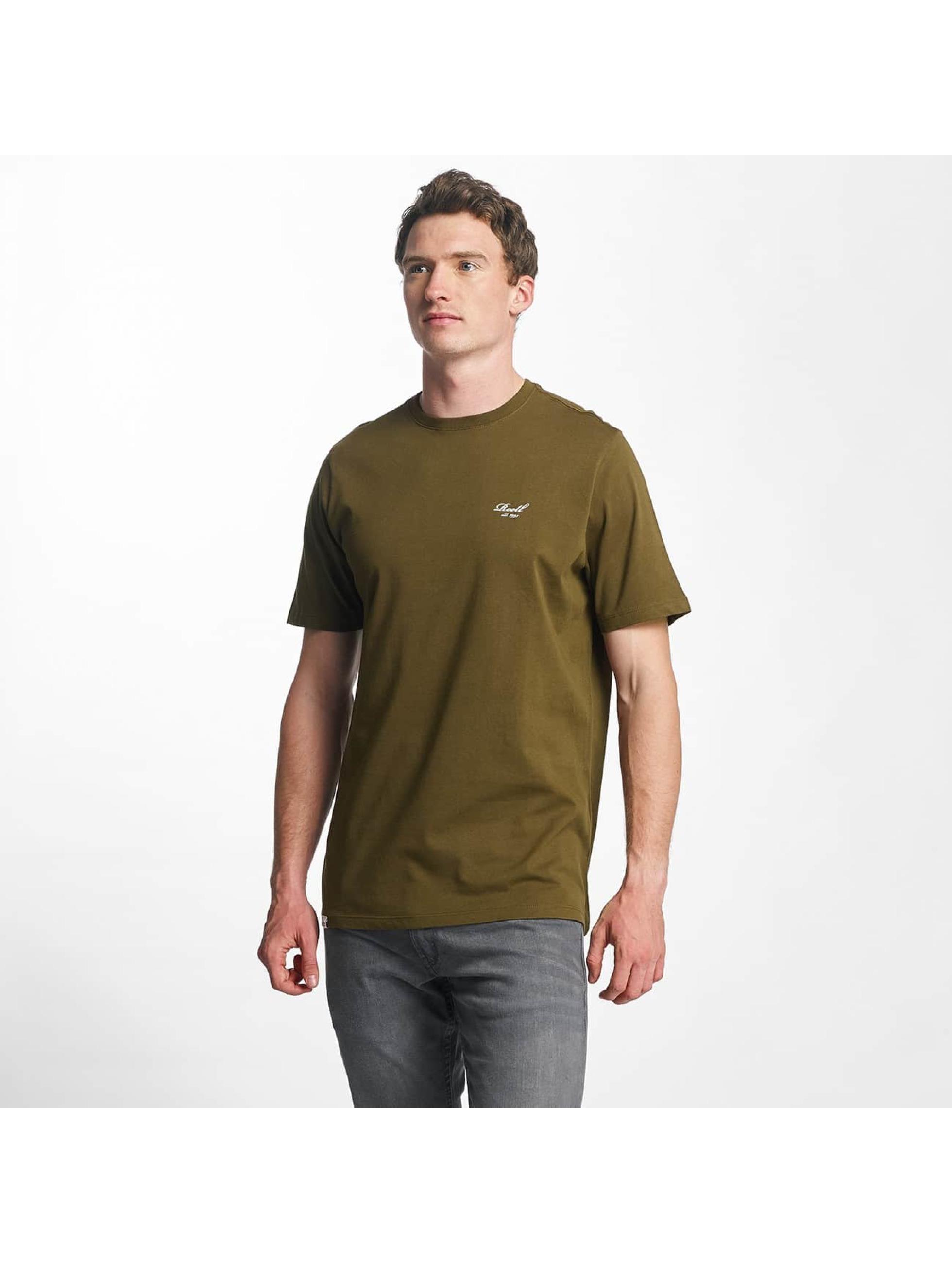 Reell Jeans Männer T-Shirt Small Script in olive
