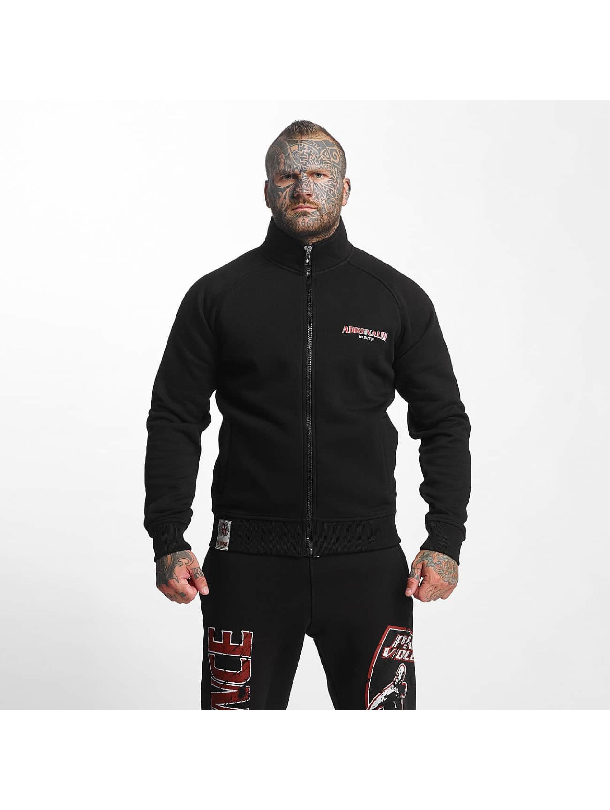 Pro Violence Streetwear Männer Übergangsjacke Adrenlin Hunter in schwarz