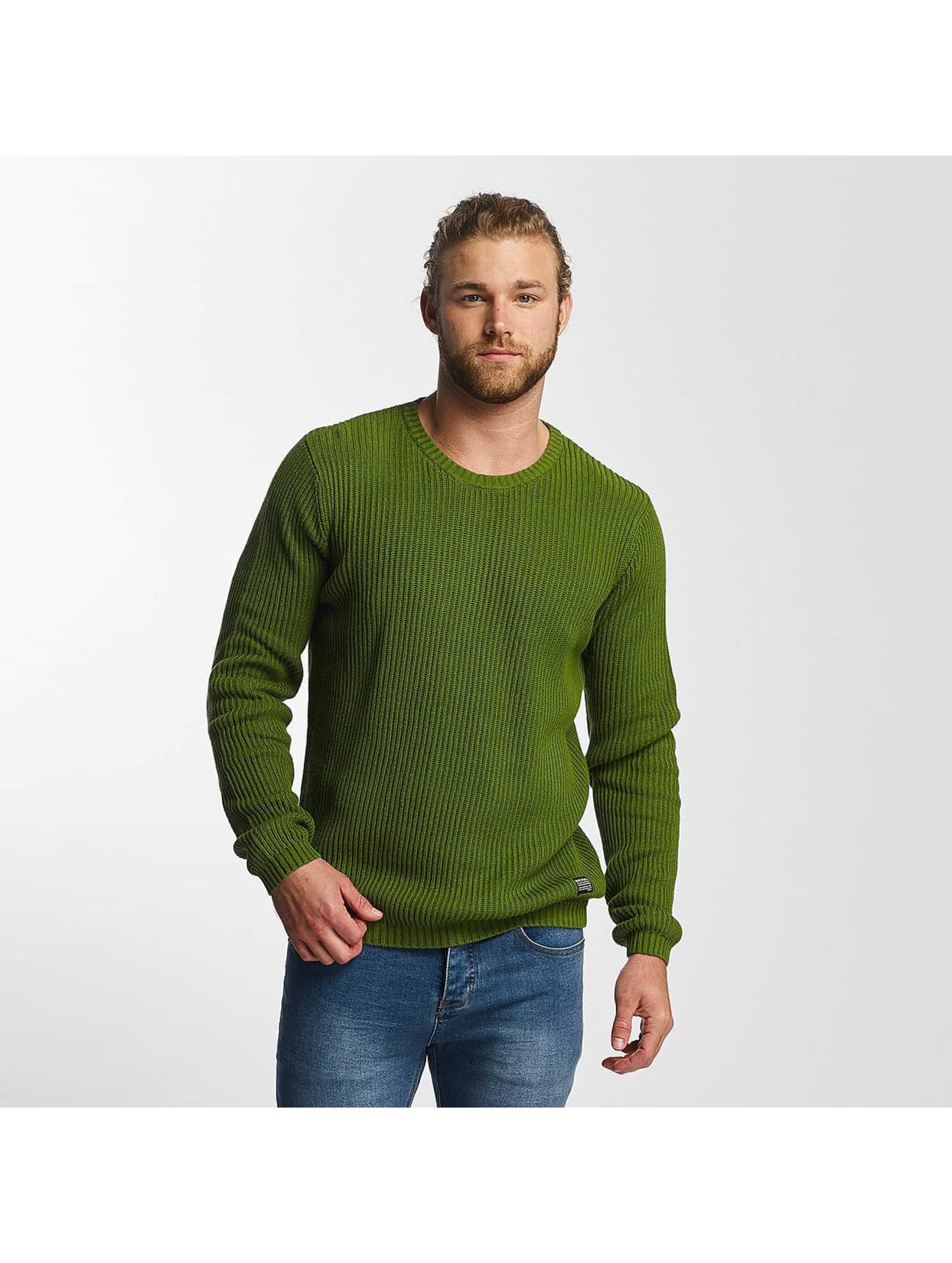 SHINE Original Männer Pullover O-Neck Knit in grün