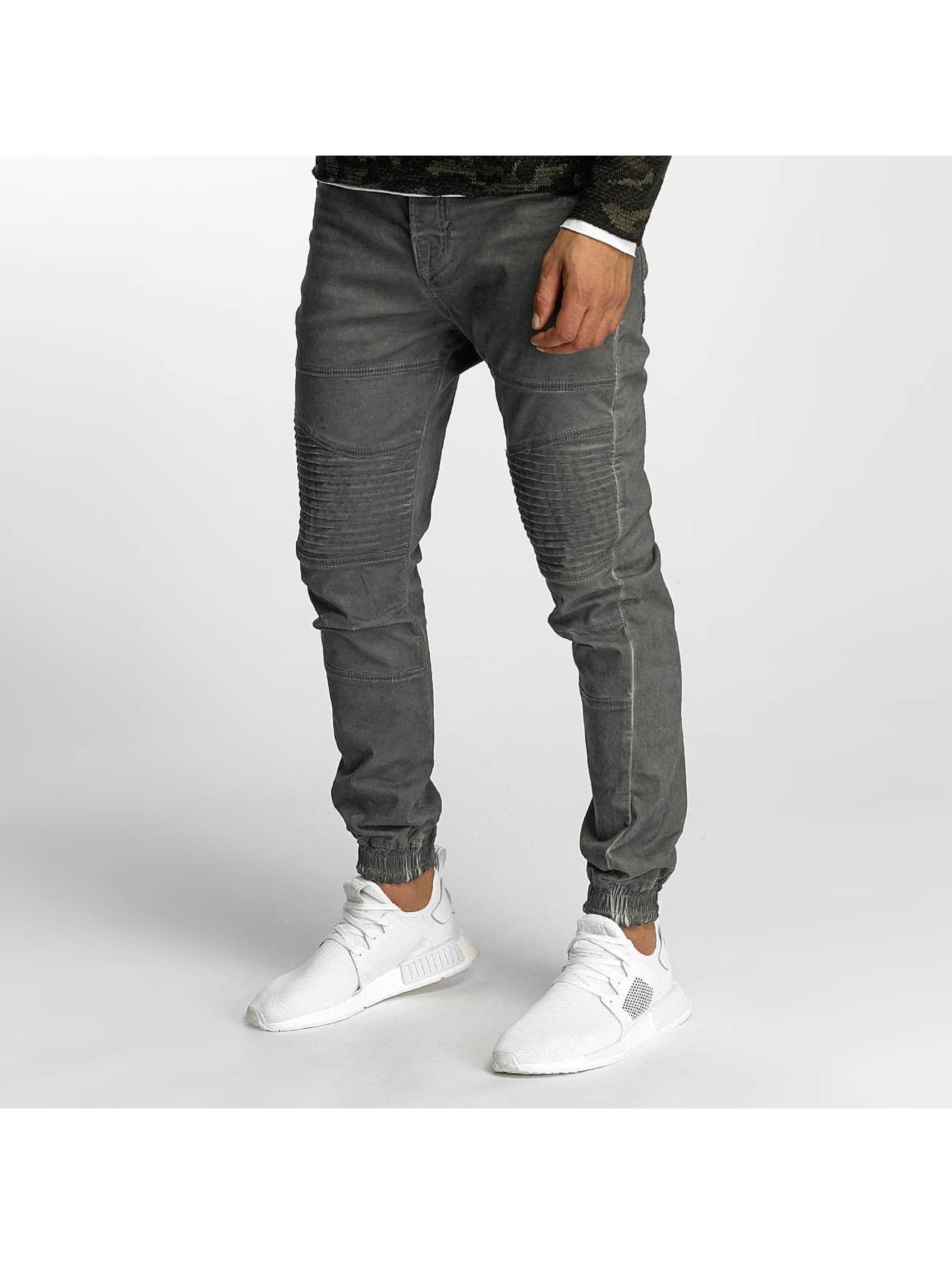 VSCT Clubwear Männer Chino Noah Biker in grau