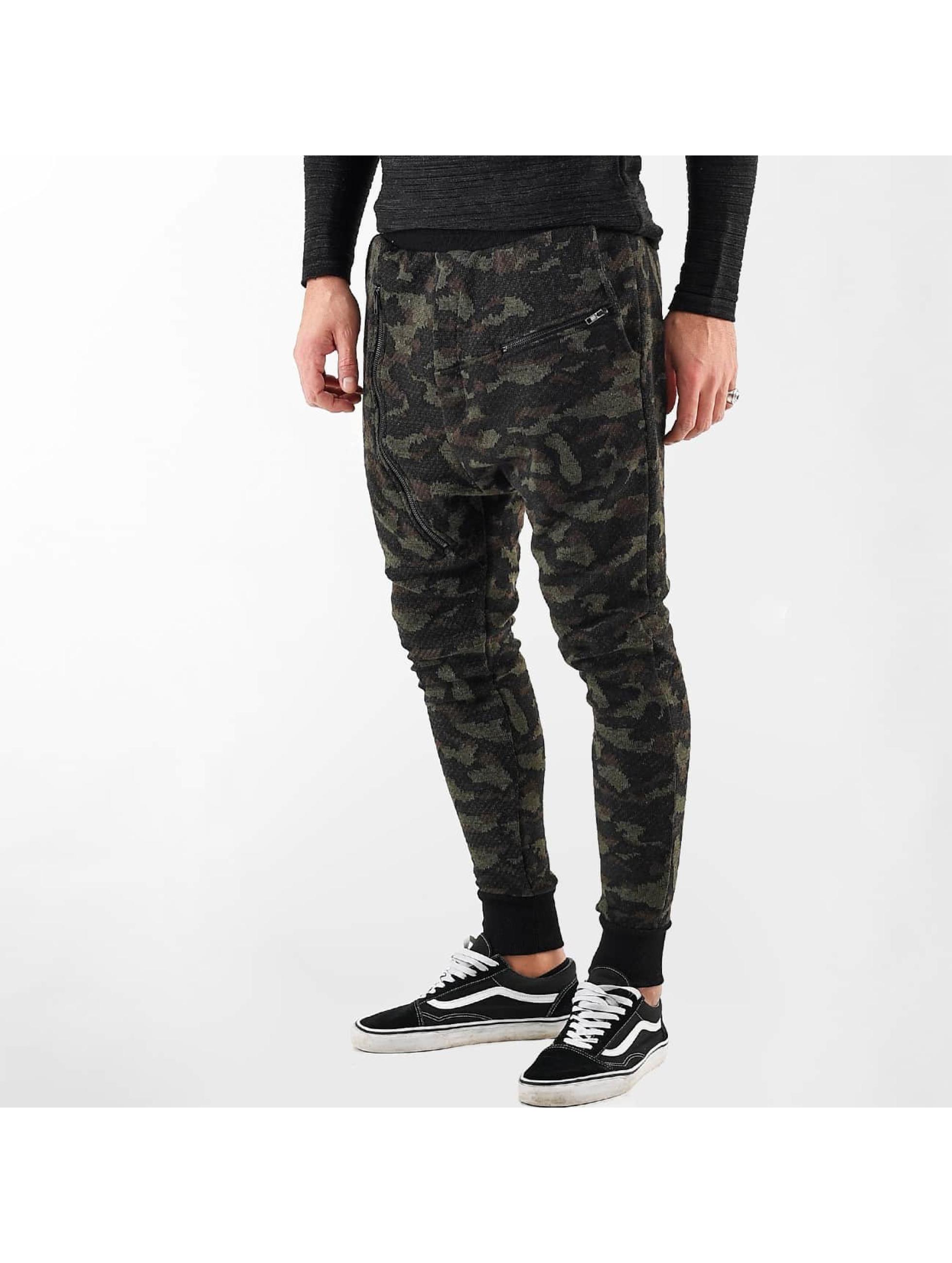 VSCT Clubwear Männer Jogginghose Kobe Knit in camouflage