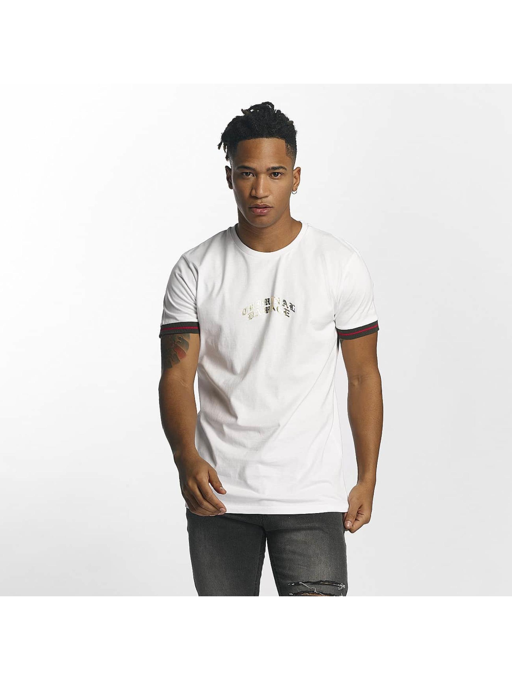 Criminal Damage Männer T-Shirt Cucci in weiß