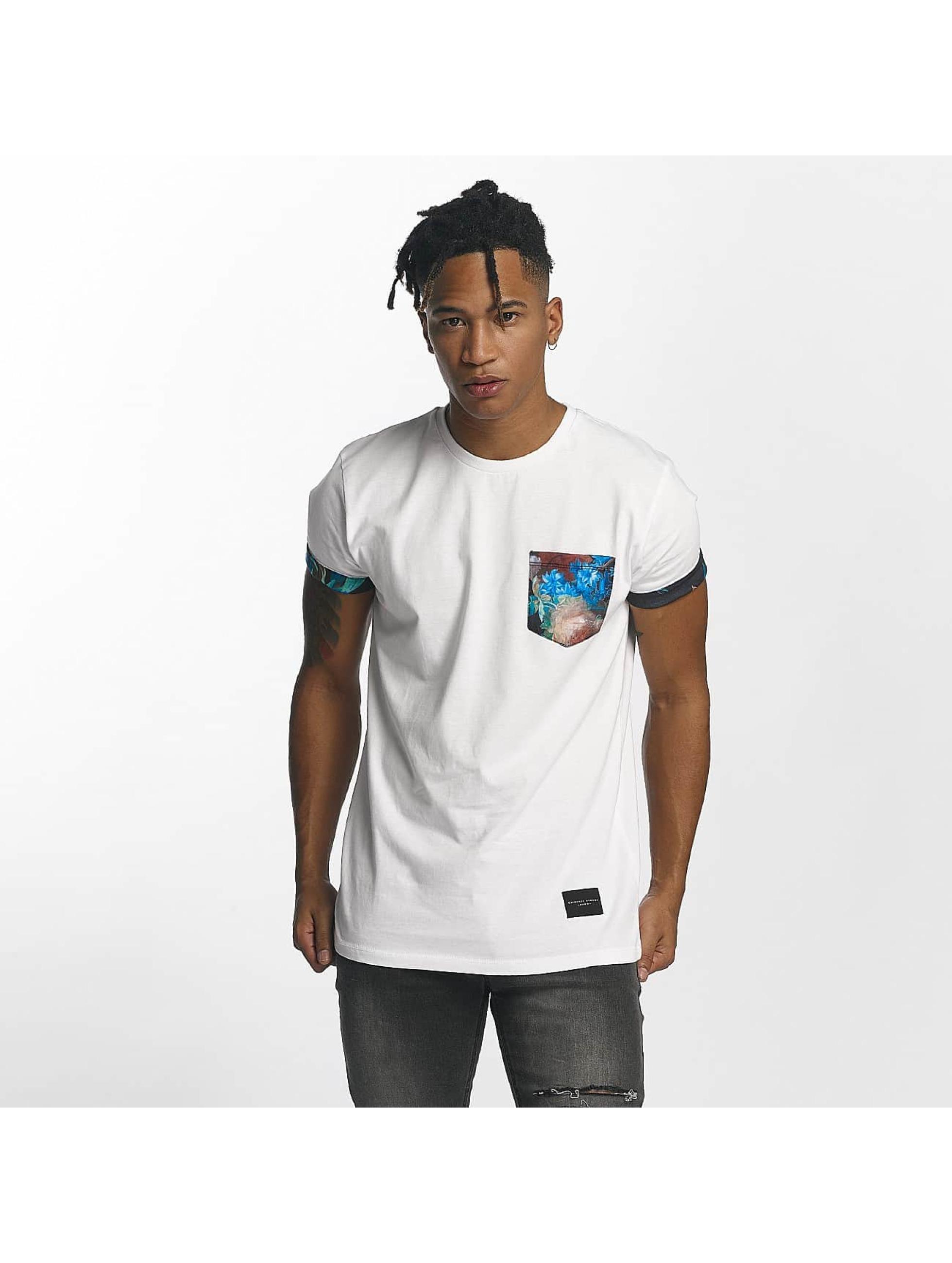 Criminal Damage Männer T-Shirt Meadow in weiß