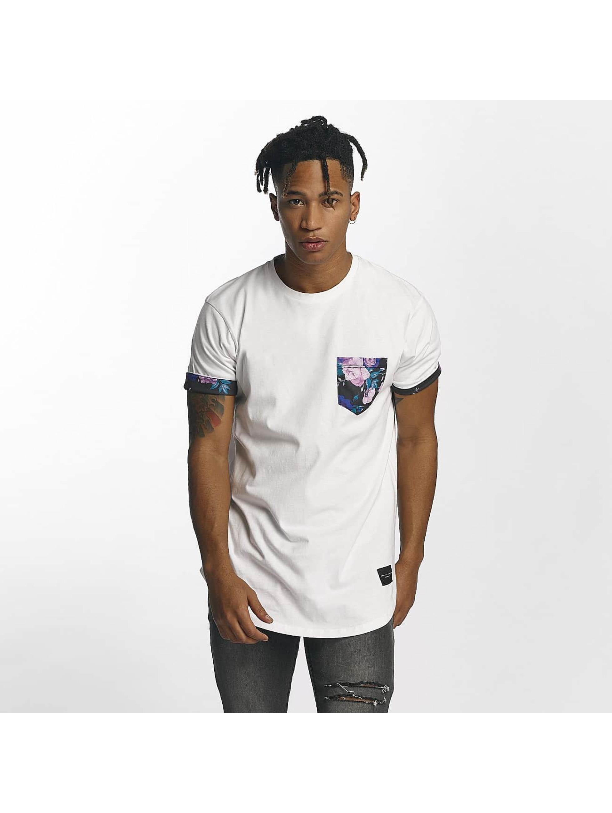 Criminal Damage Männer T-Shirt Puglia in weiß