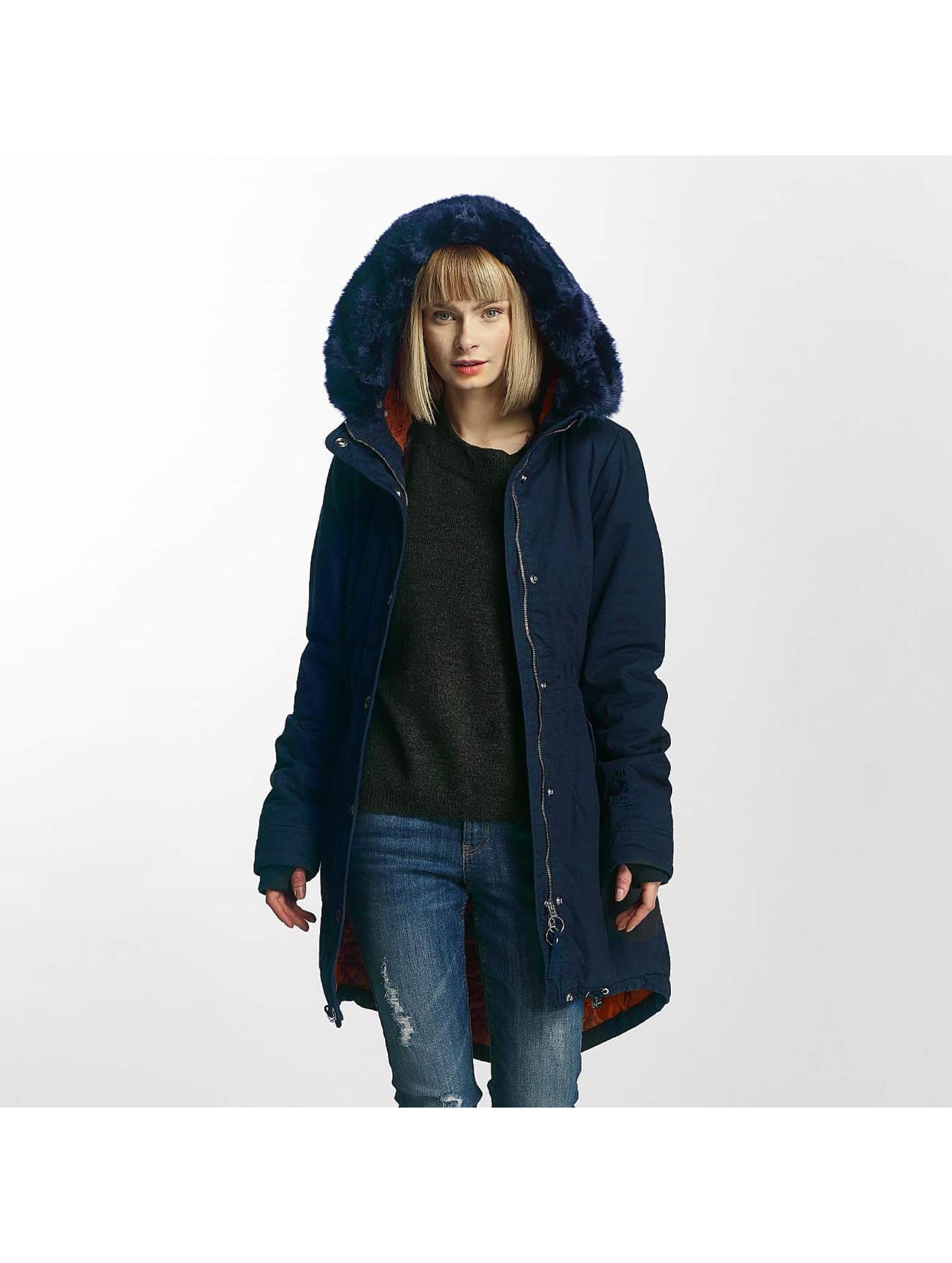 Bench Frauen Winterjacke New in blau