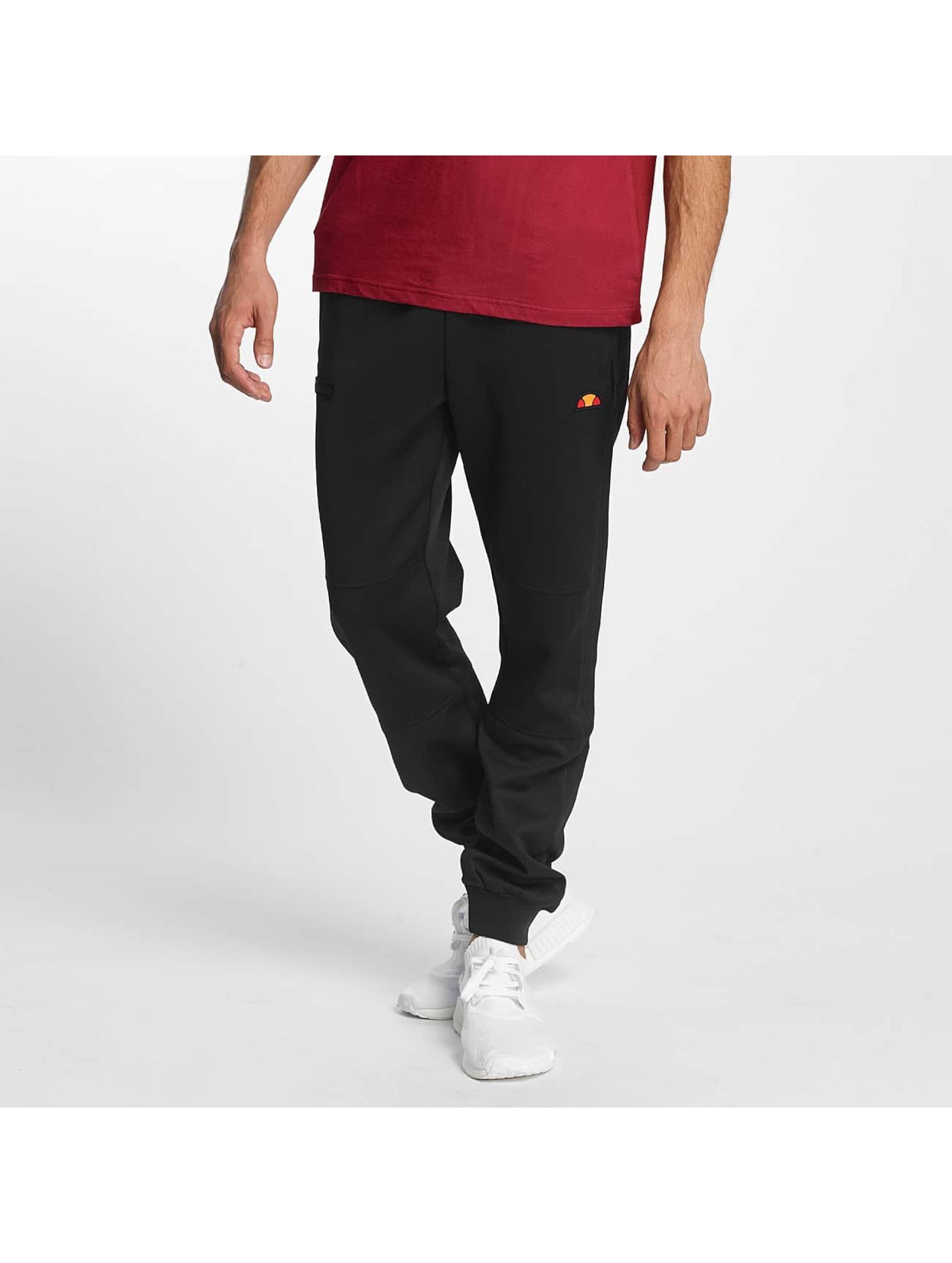 Ellesse Männer Jogginghose Sport Target Soft Shell in schwarz