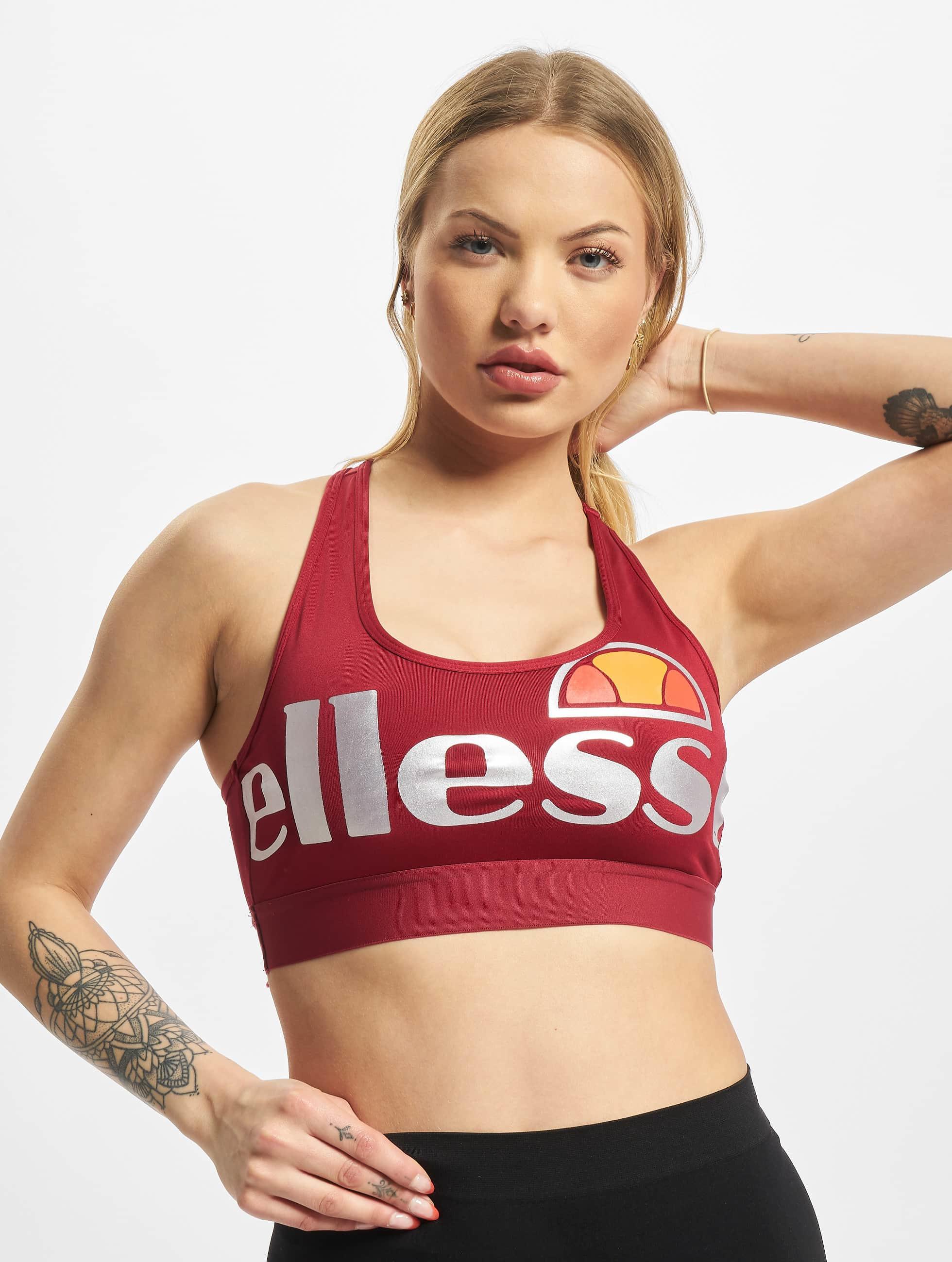 Ellesse Frauen Unterwäsche Sport Cefalo Bra in rot