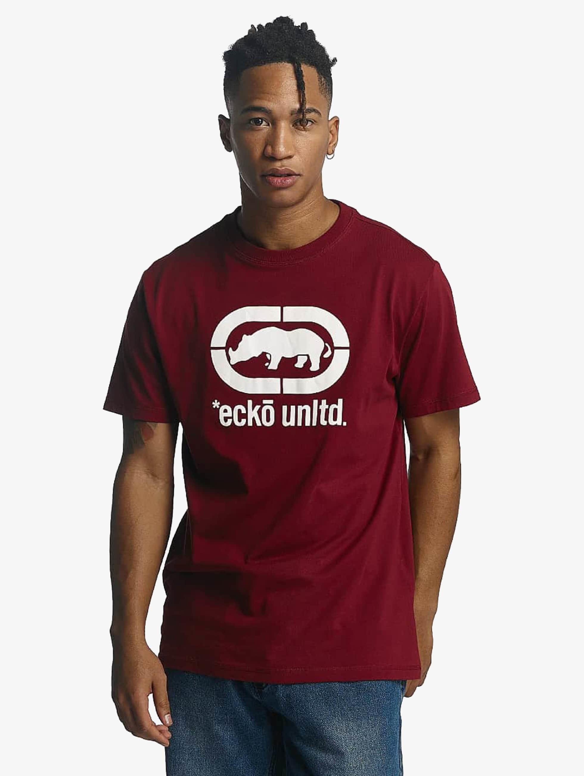 Ecko Unltd. / T-Shirt Base in red 3XL