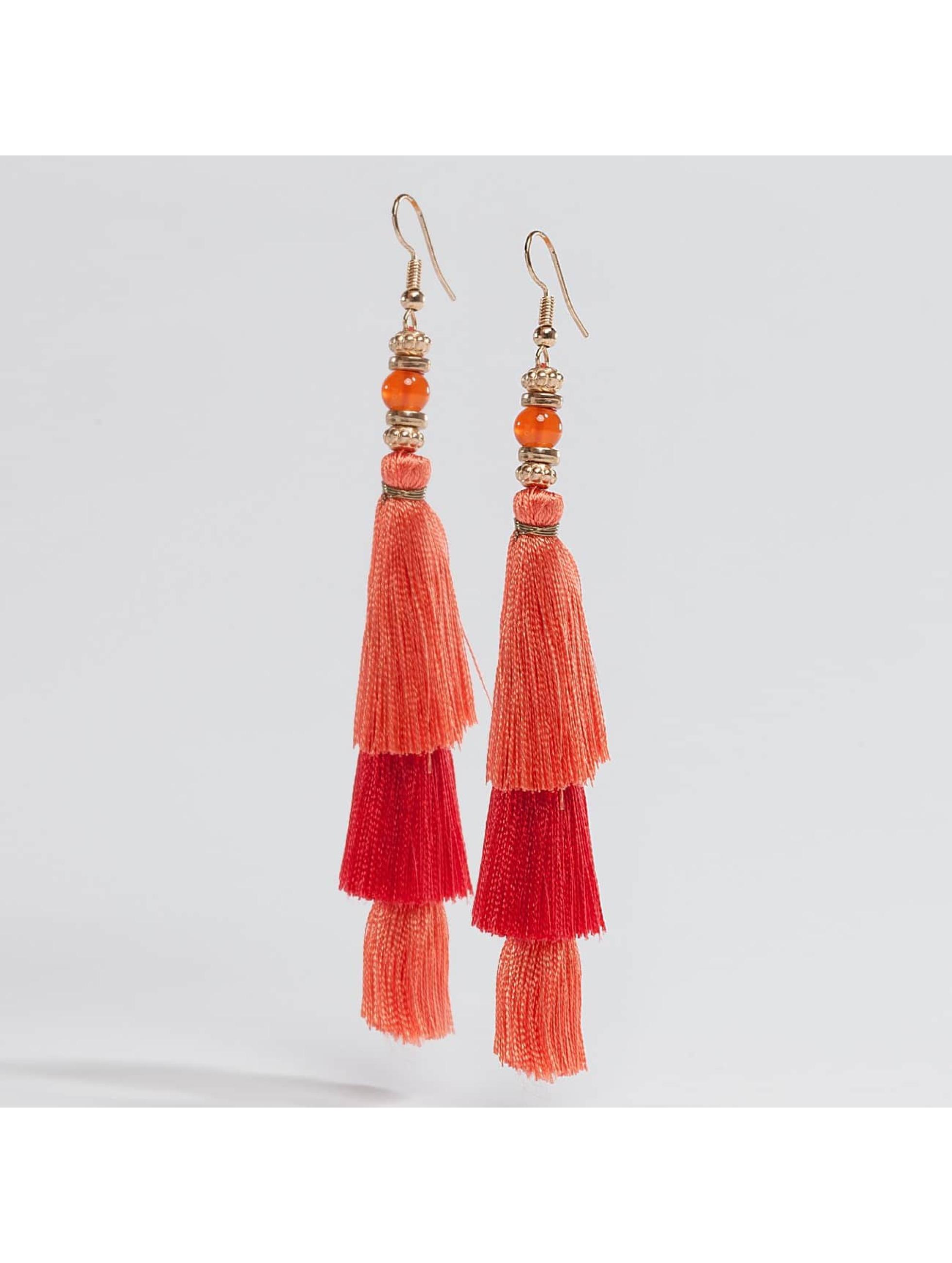 Pieces Frauen Ohrringe pcLynn in orange