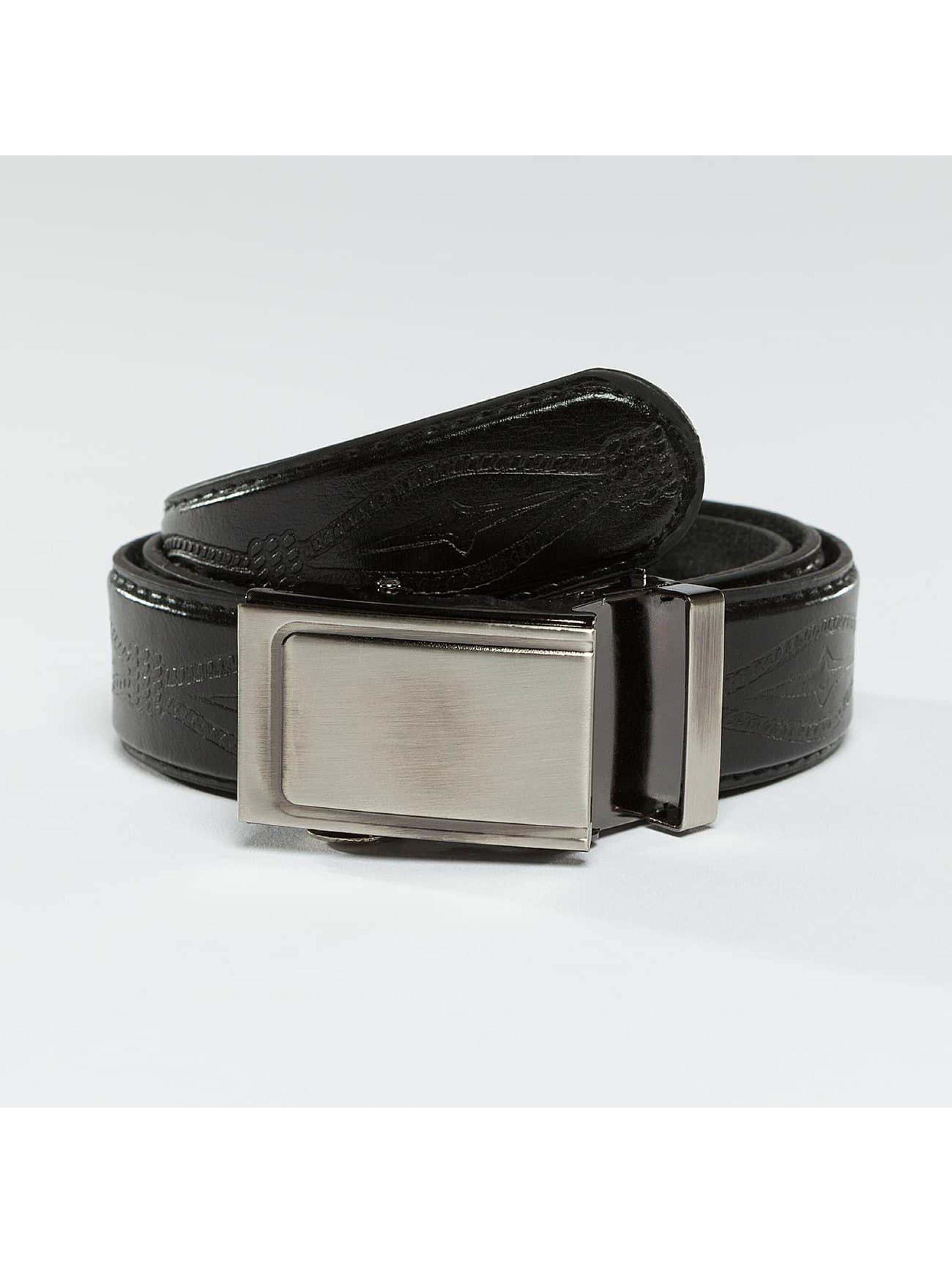 Kaiser Jewelry Männer,Frauen Gürtel Leather Belt in schwarz