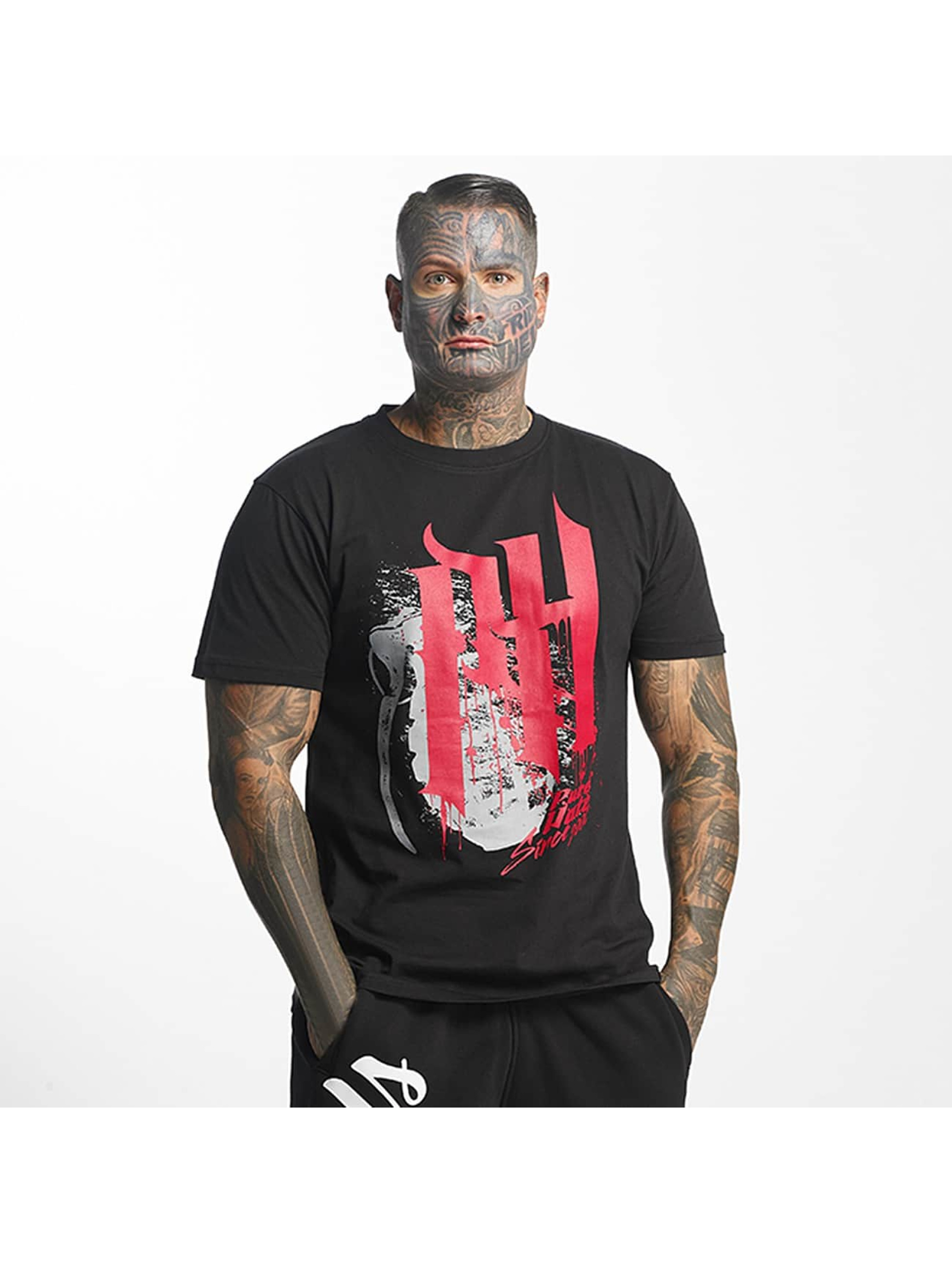 Pure Hate Männer T-Shirt Bloody Letters in schwarz