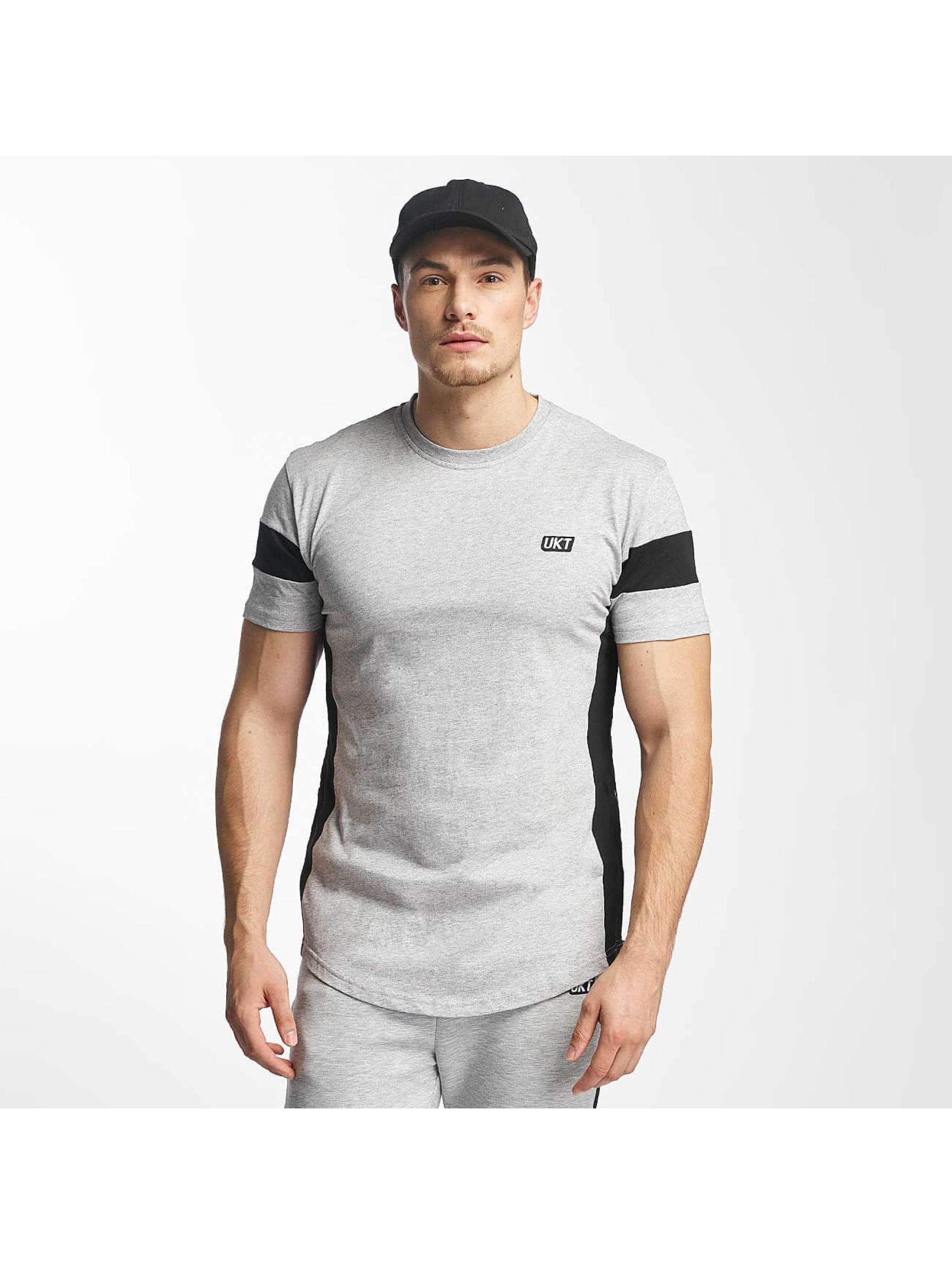 Unkut Männer T-Shirt Open in grau