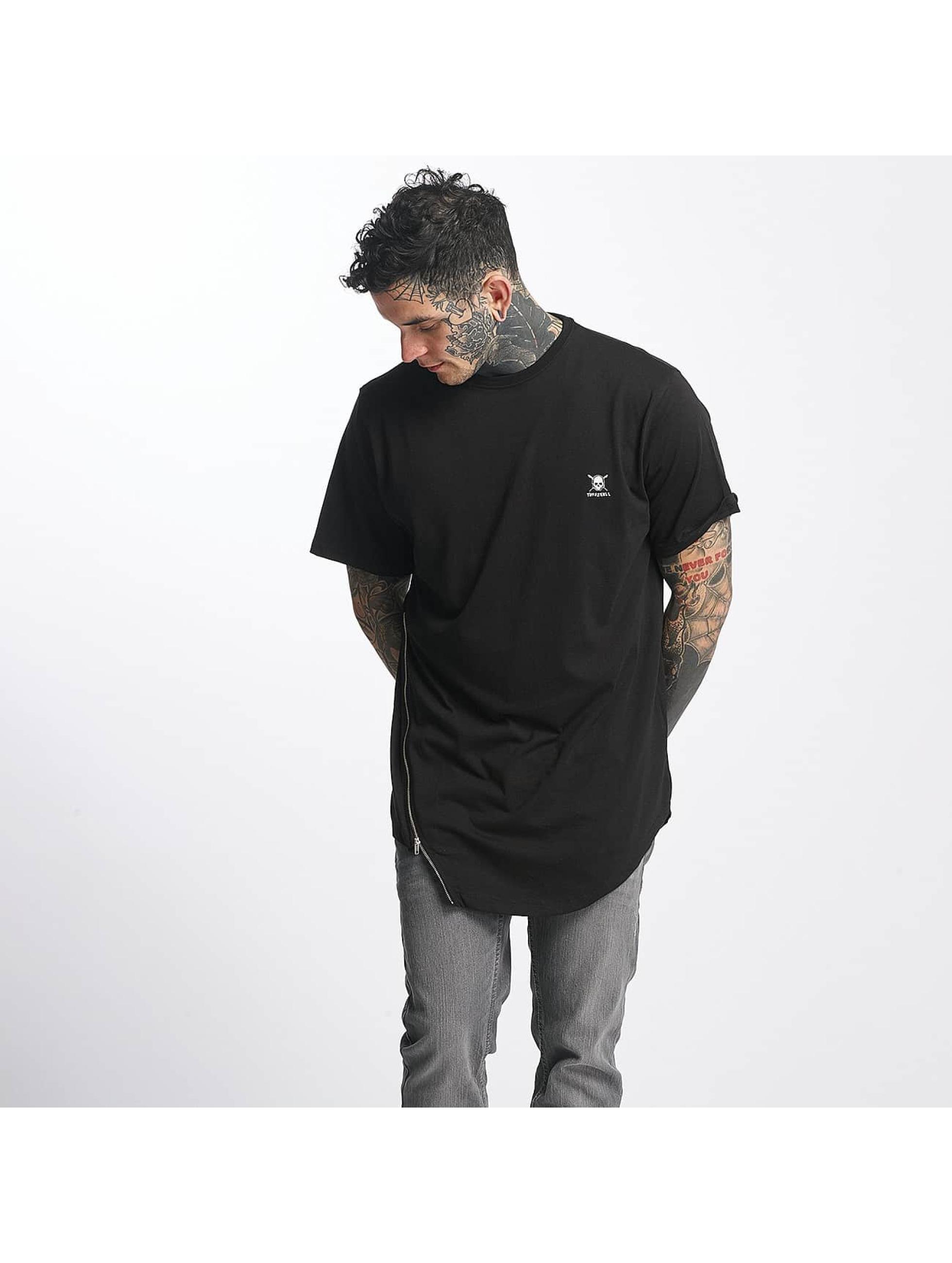 Tuffskull Männer T-Shirt Zipline in schwarz