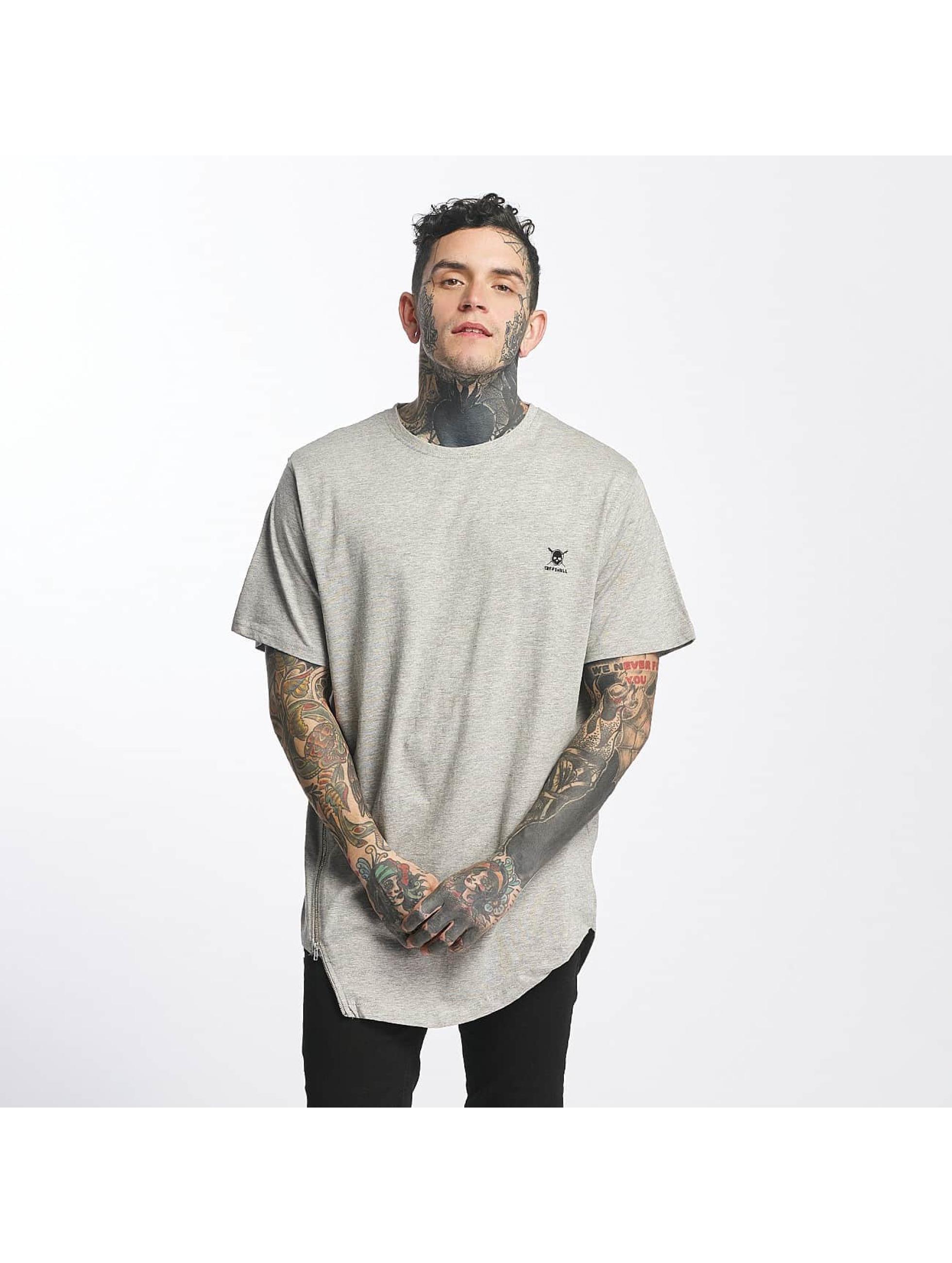 Tuffskull Männer T-Shirt Zipline in grau